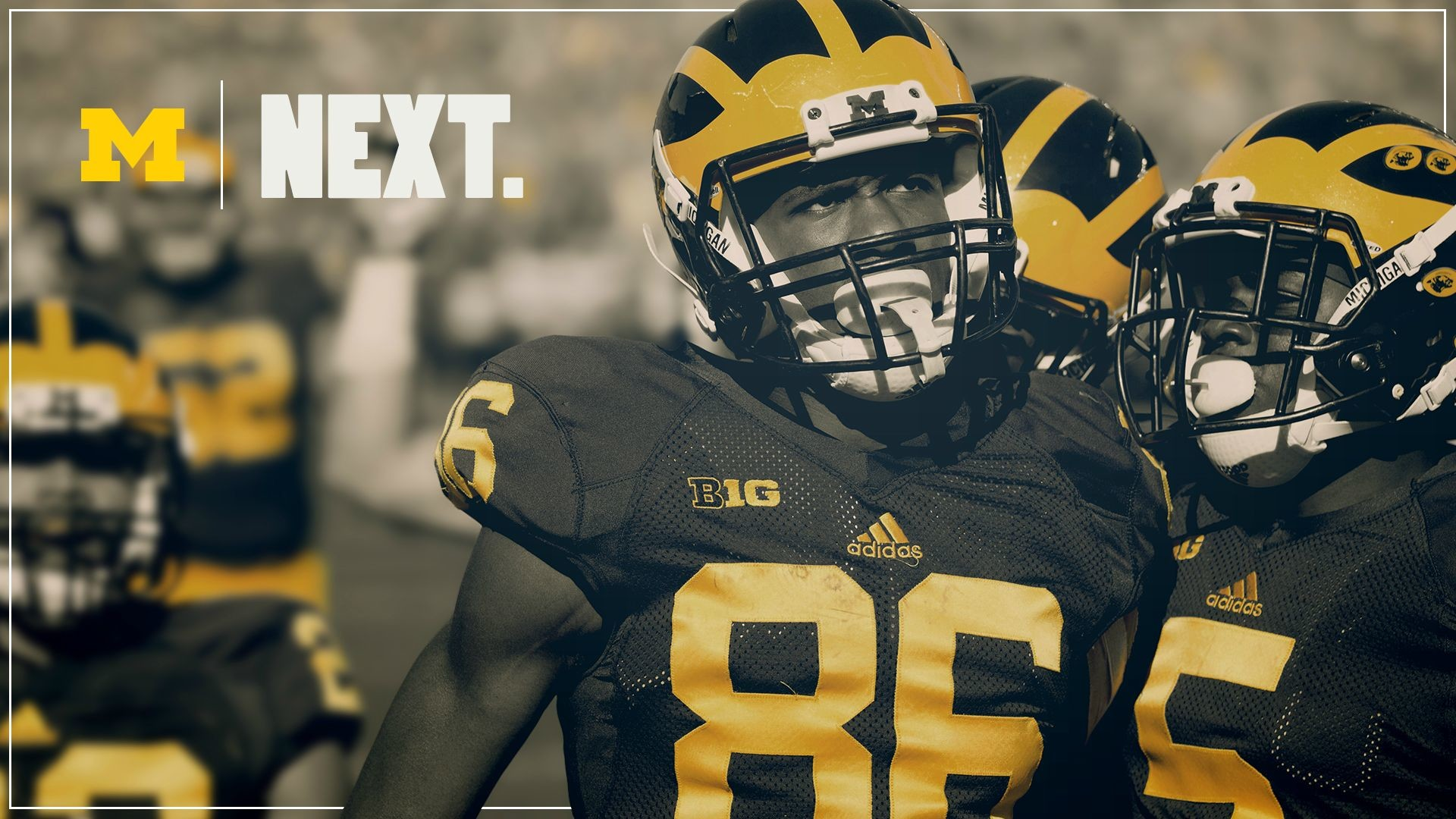 1920x1080 Michigan Wolverines Screensaver and Wallpaper