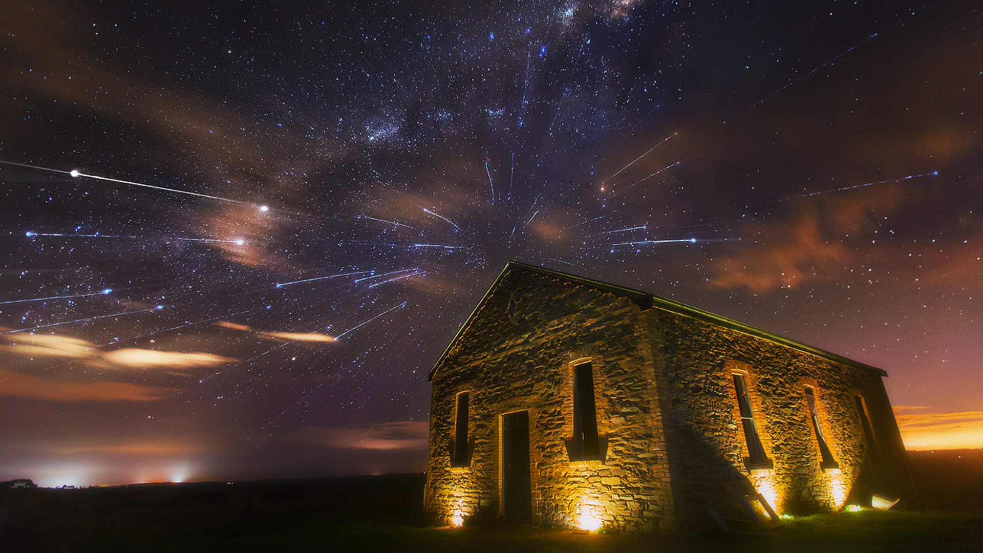 Meteor Shower Wallpapers (63+ images)  Meteor Shower W...