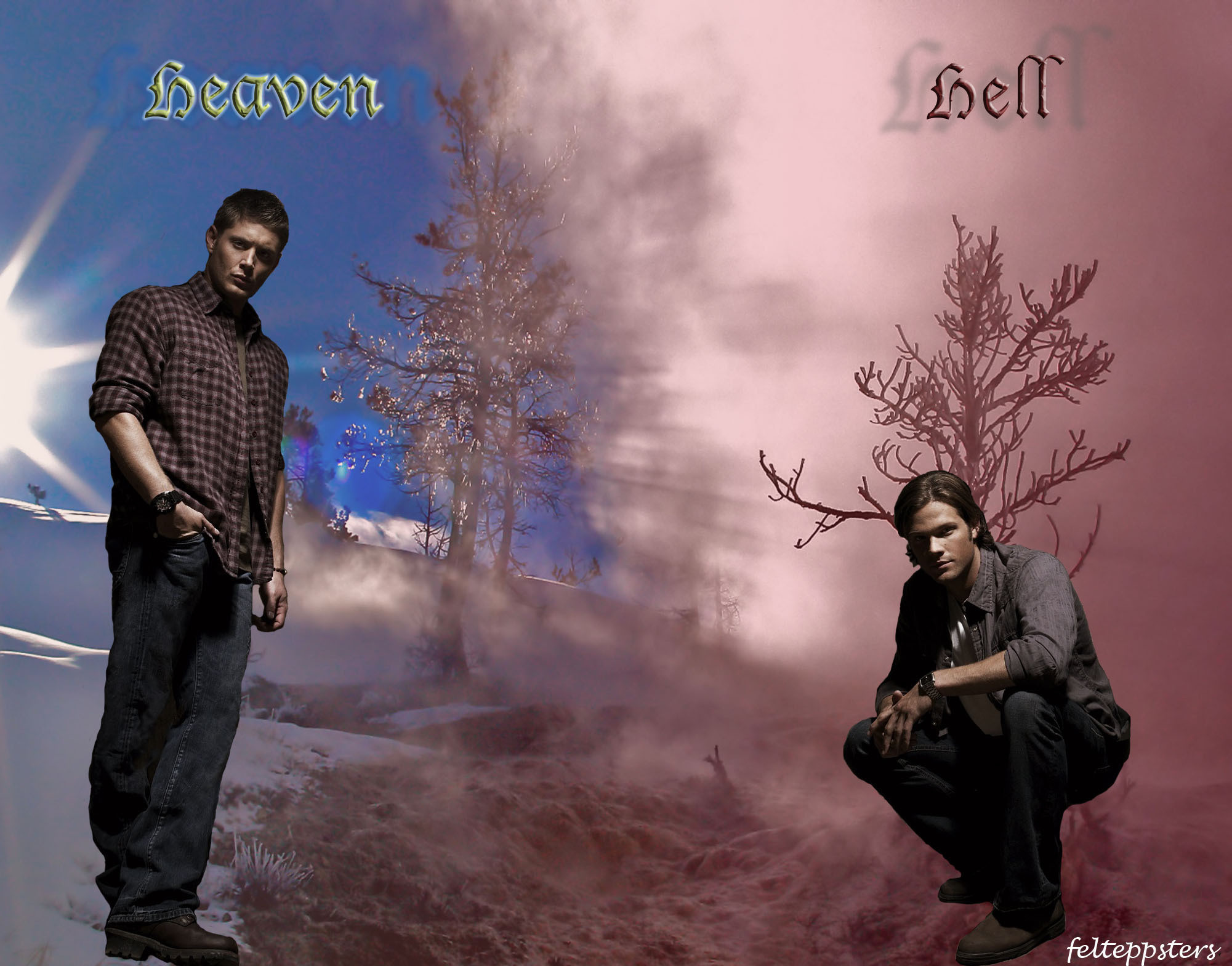 2001x1569 Supernatural images Heaven and Hell HD wallpaper and background photos .