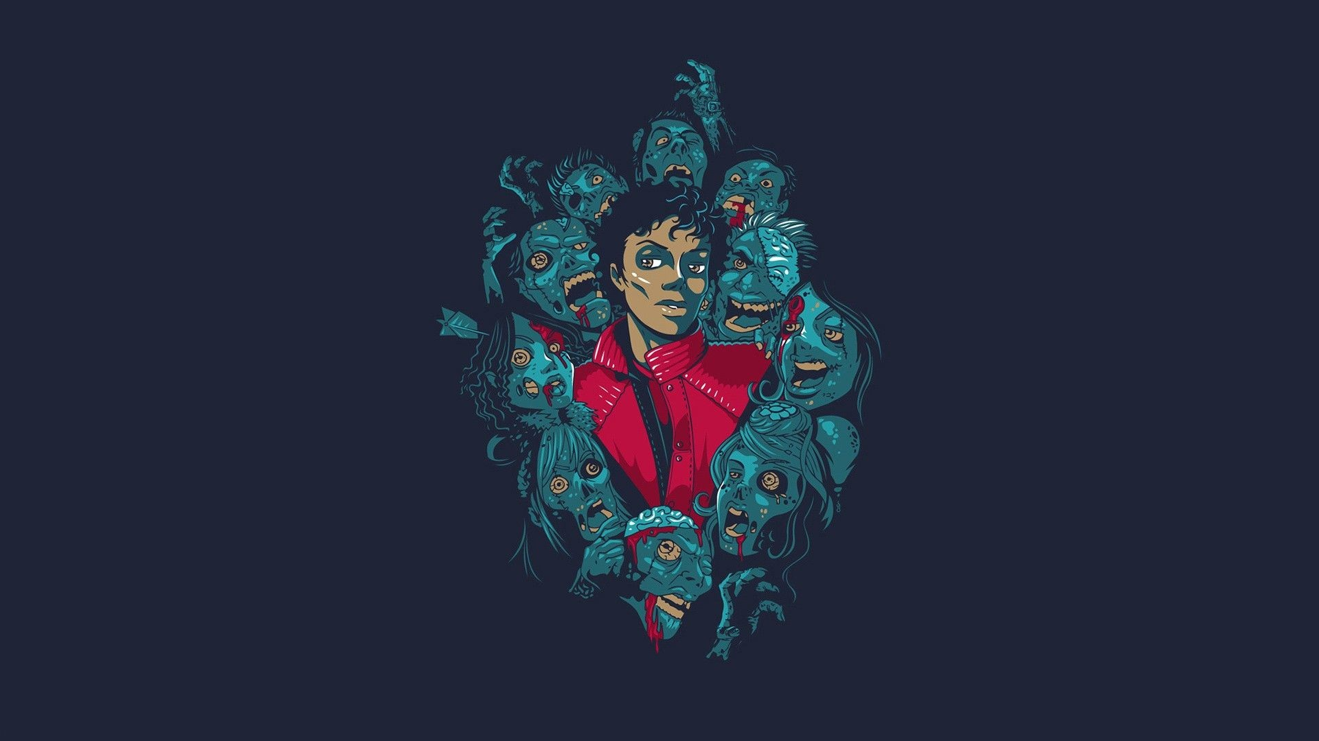 1920x1080 Michael Jackson Thriller Wallpapers