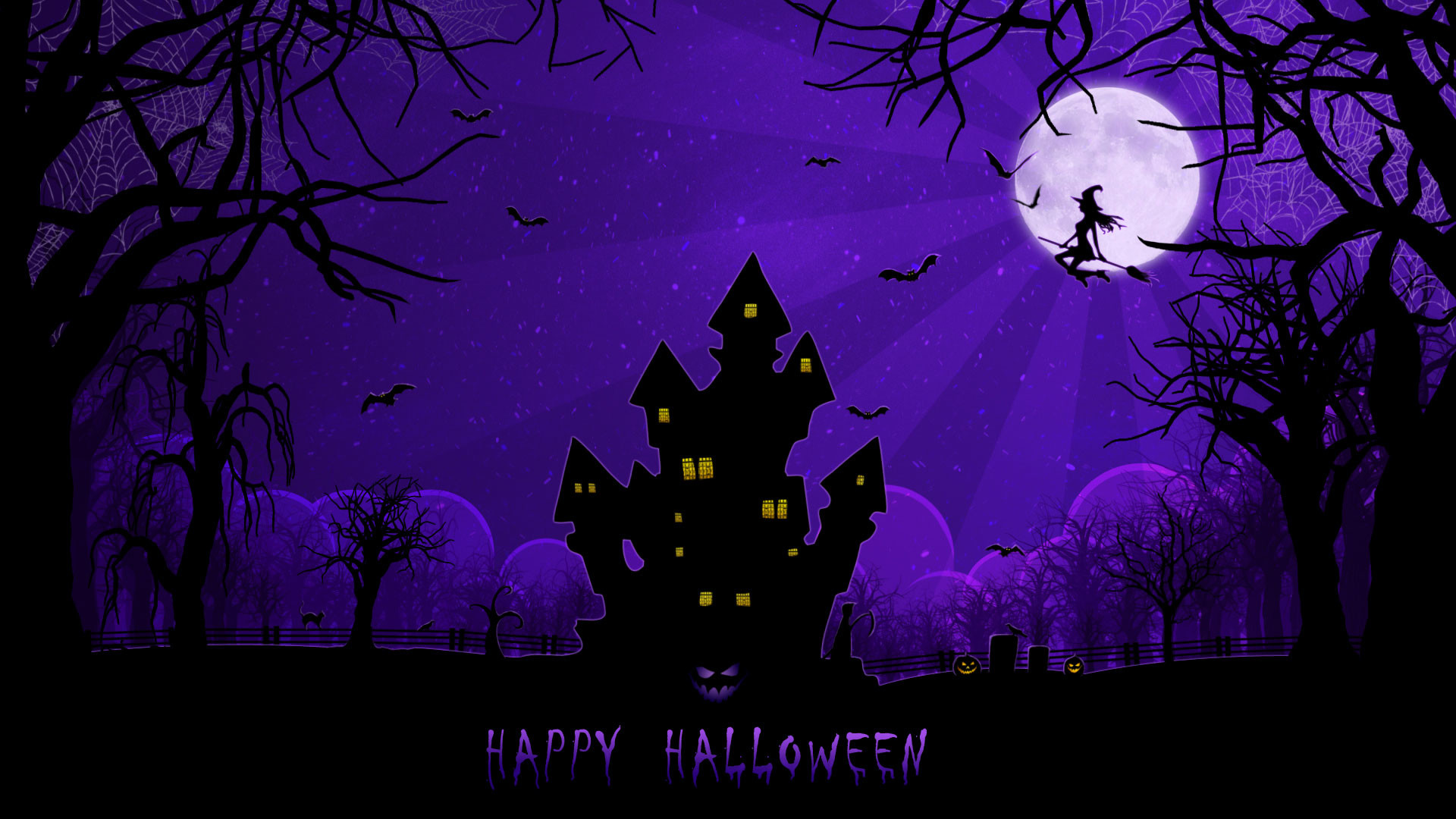1920x1080 Free Scary Halloween Backgrounds & Wallpaper Collection 2014