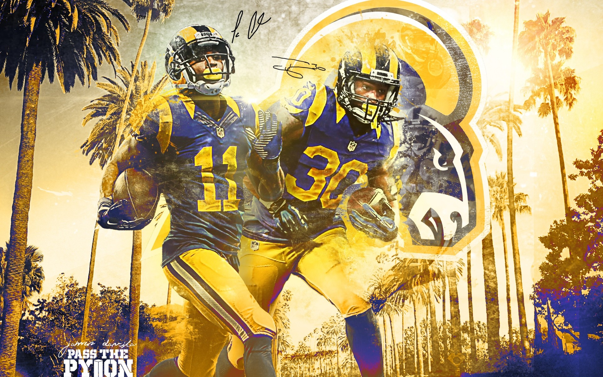 1920x1200 Rams Wallpaper within Los Angeles Rams Wallpaper