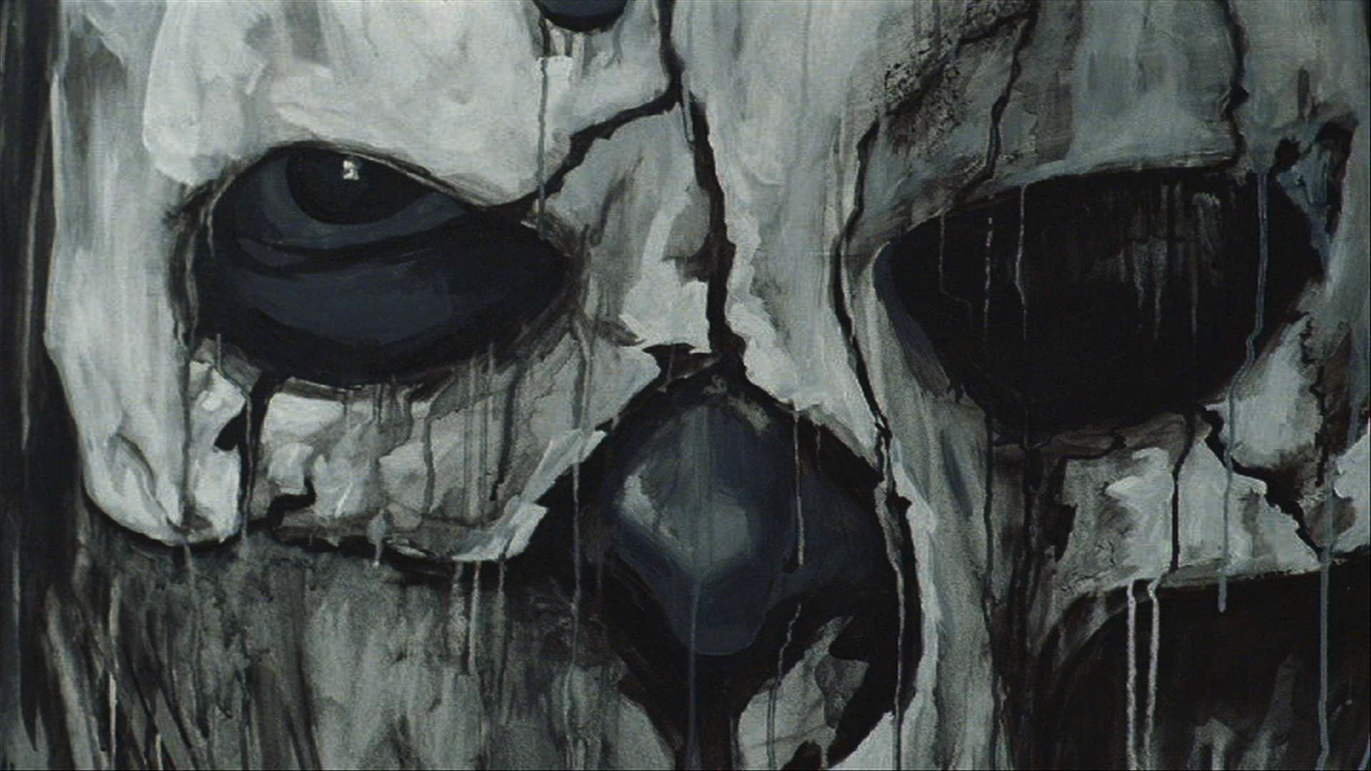 Dark skull wallpapers 42 images - Scary skull backgrounds ...