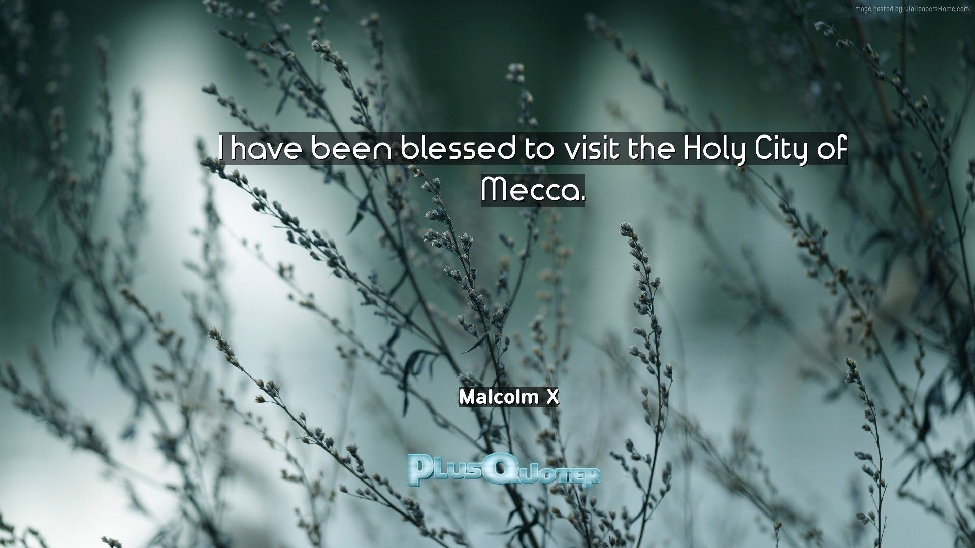 "1920x1080 ""I have been blessed to visit the Holy City of Mecca""- Malcolm X 