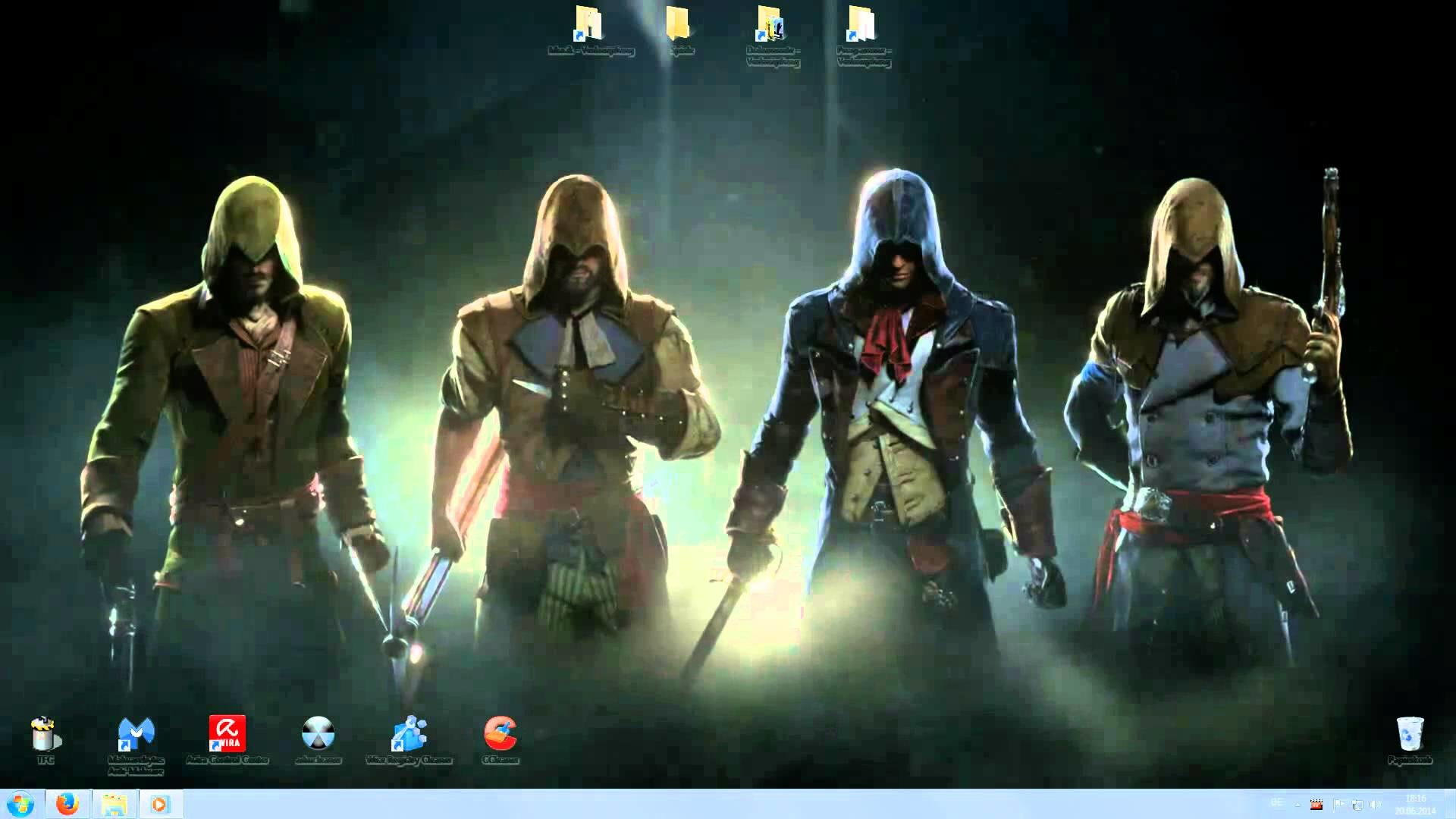 1920x1080 Assassins Creed Unity Animated Desktop Wallpaper Background Full HD   Download - YouTube