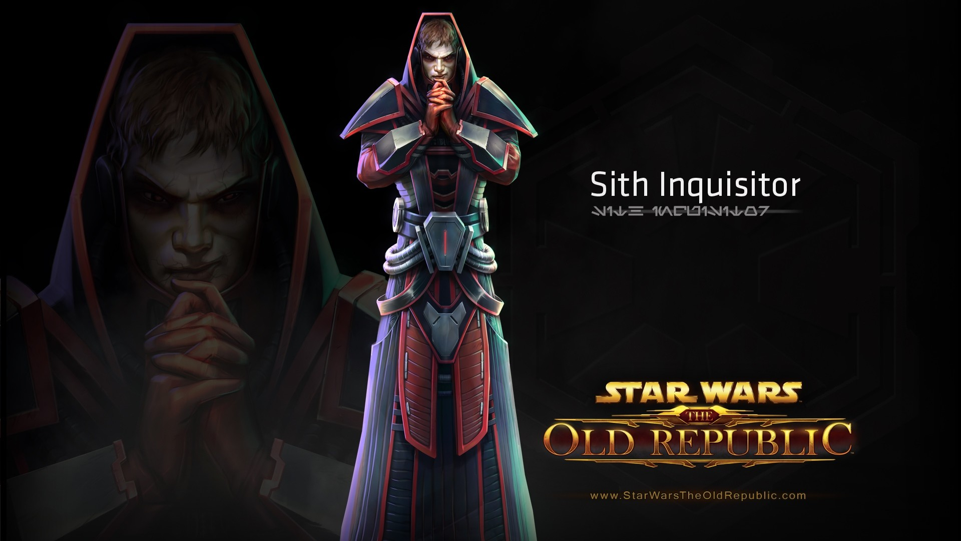 1920x1080 Preview wallpaper star wars the old republic, sith inquisitor, character,  costume