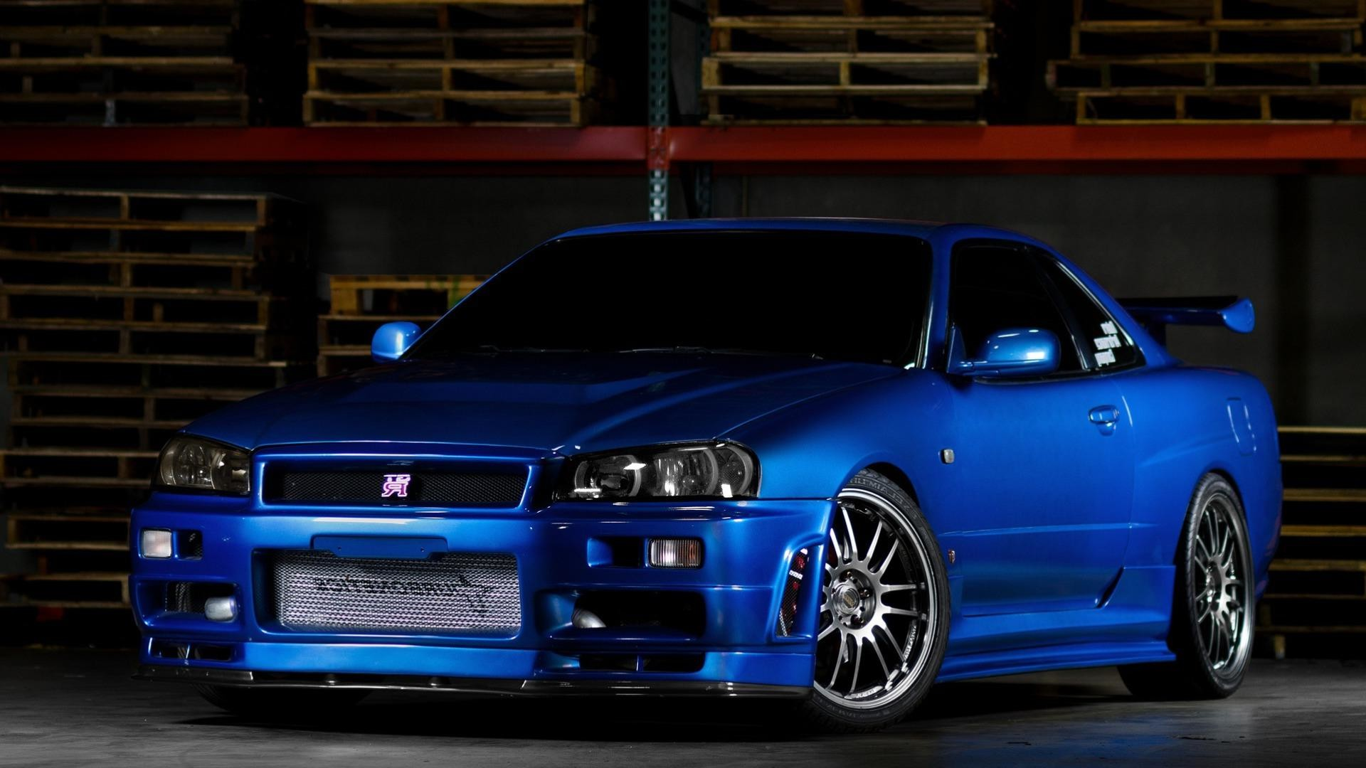 1920x1080 Nissan Skyline Gtr R34 Desktop Hd Wallpapers