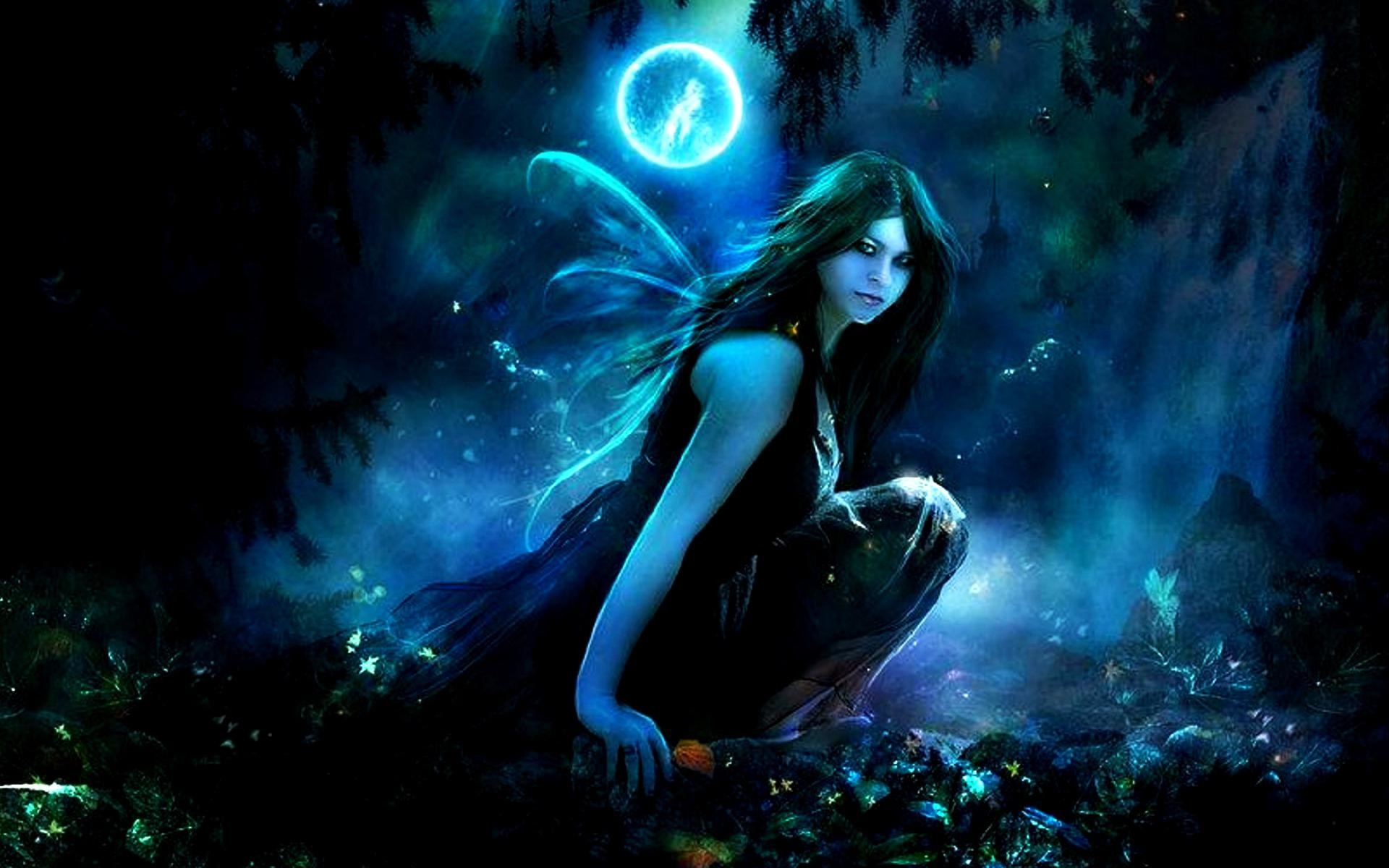 A Collection Of Dark Mysterious Hd Fantasy Wallpapers: Animated Fairy Wallpaper (57+ Images
