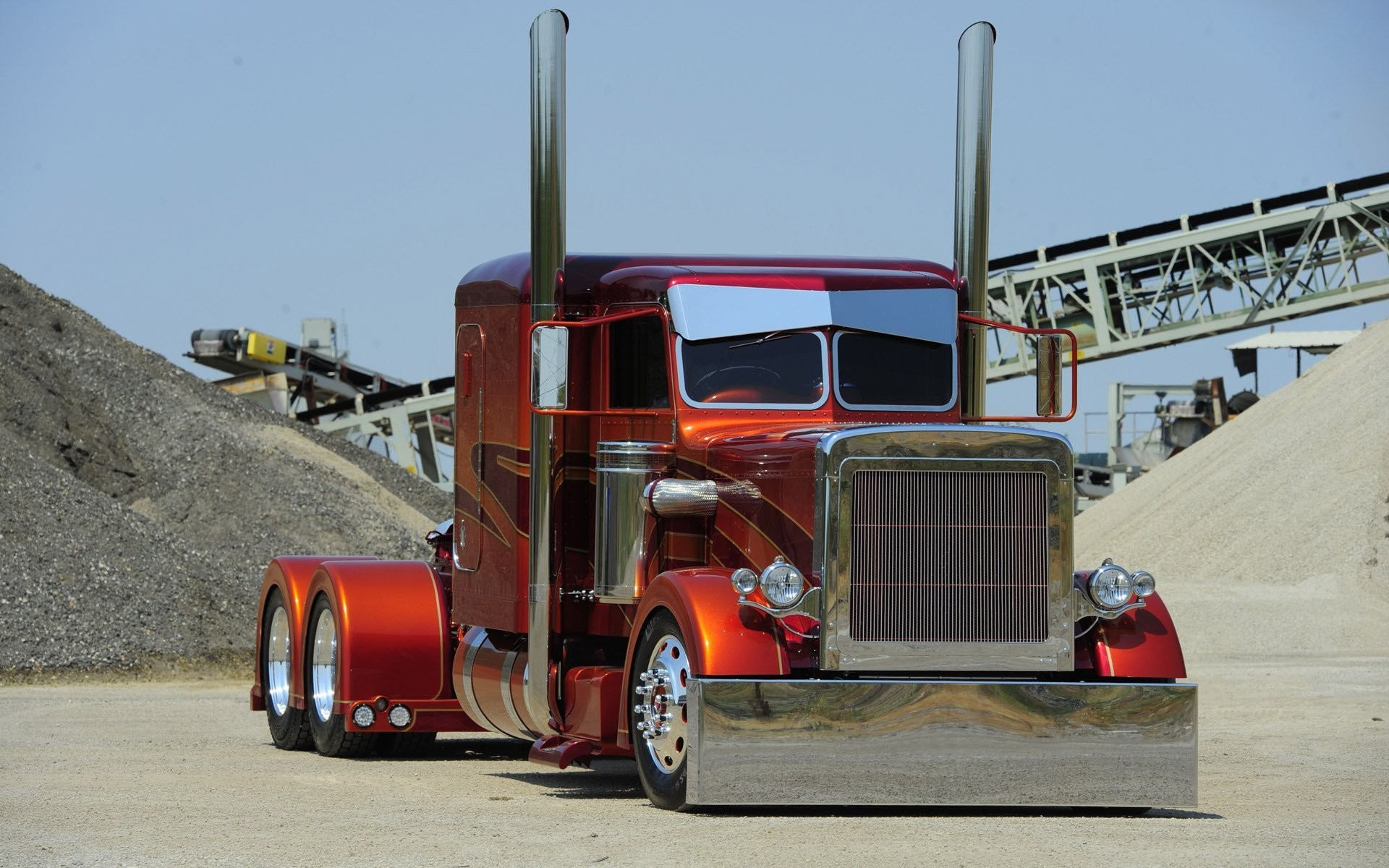 1920x1200 Free Semi Truck Wallpapers Pixelstalk Net