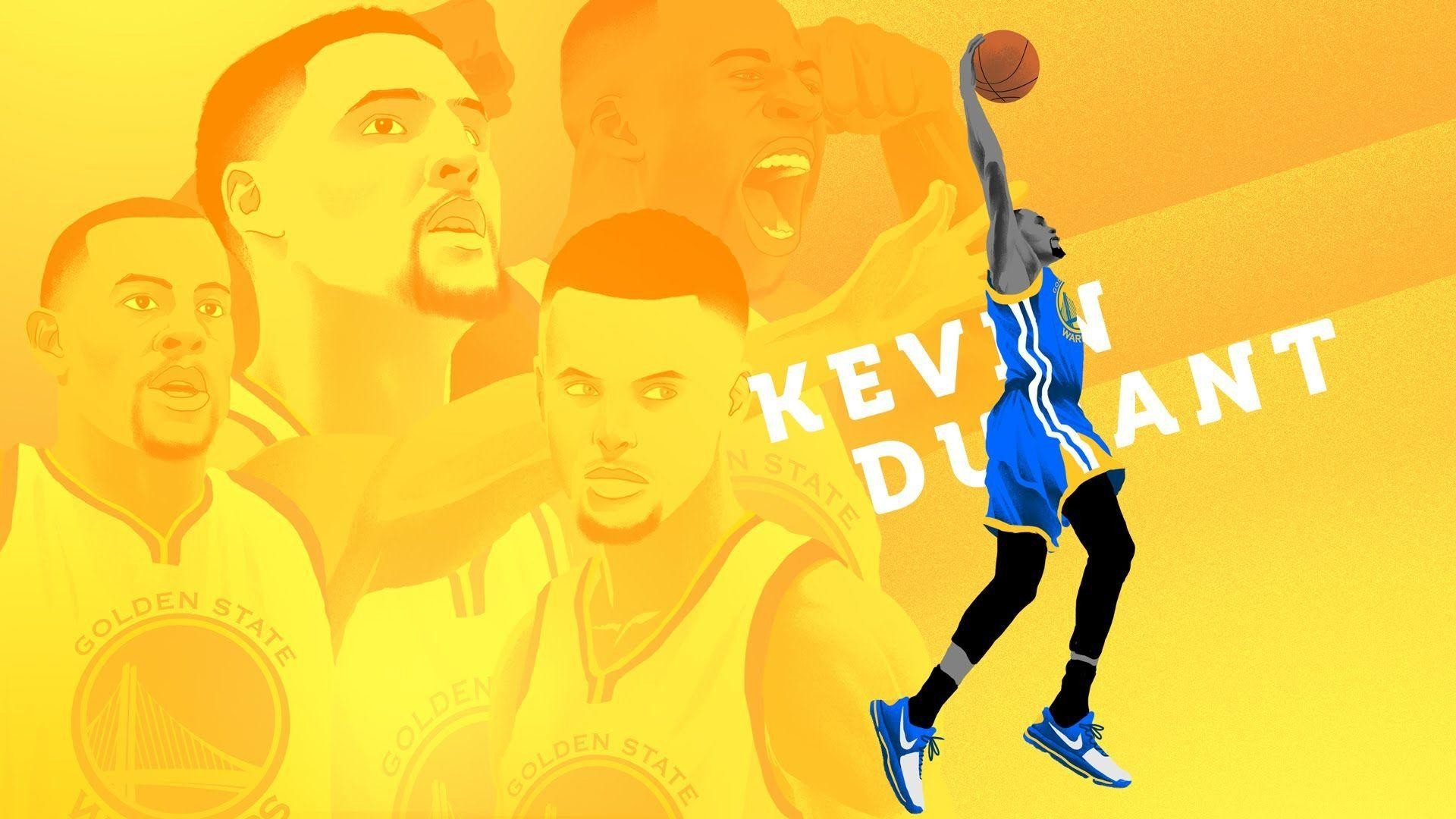 1920x1080 Kevin Durant KD sign with Golden State Warriors - Animation - YouTube