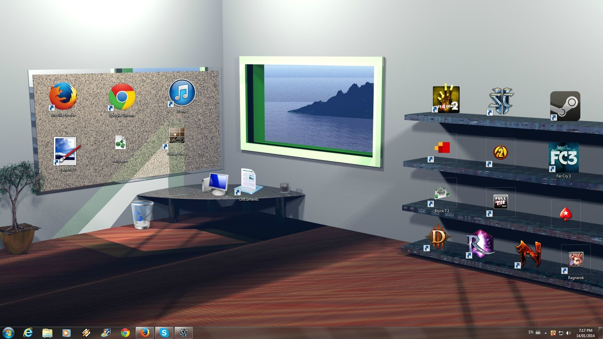 Make my desktop icons more readable! Solved  Windows 7