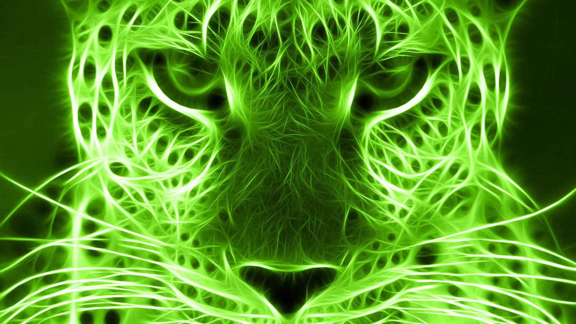 1920x1080 hd pics photos green animals digital art neon desktop background wallpaper