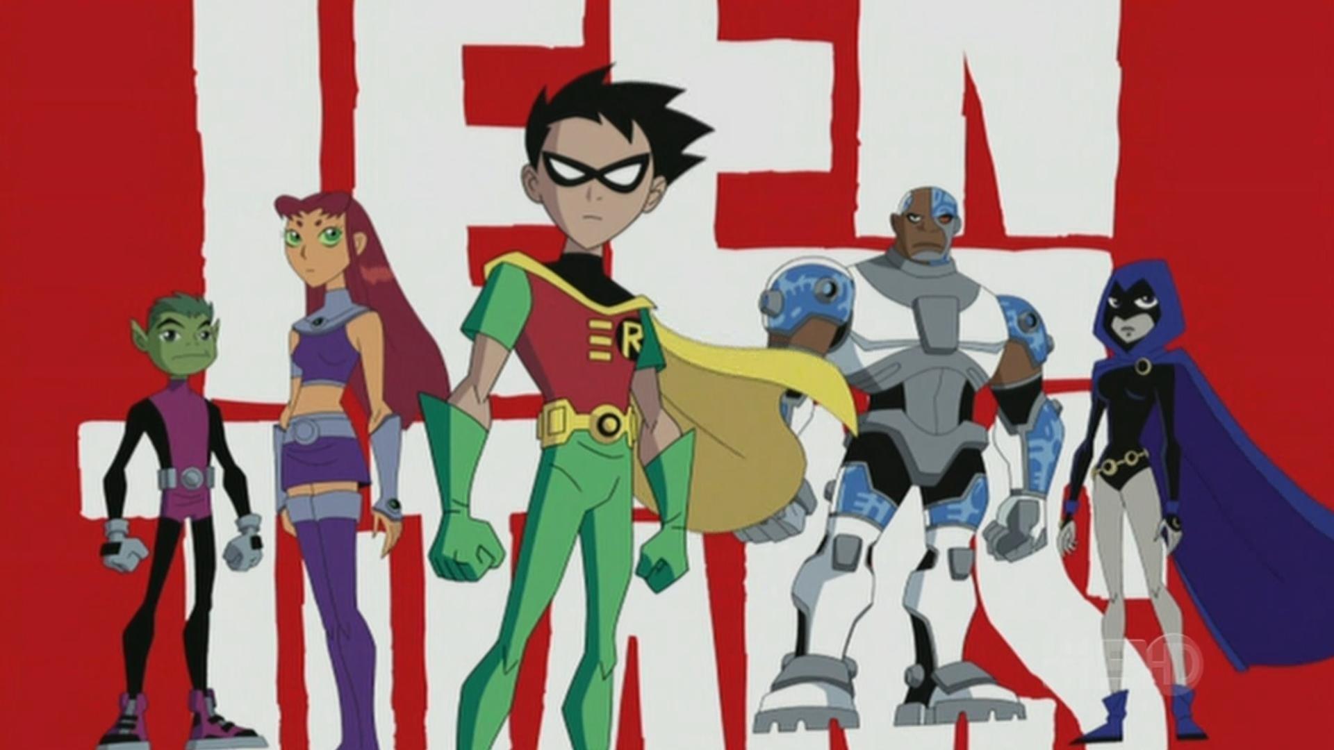 Teen Titans - 90s Cartoons