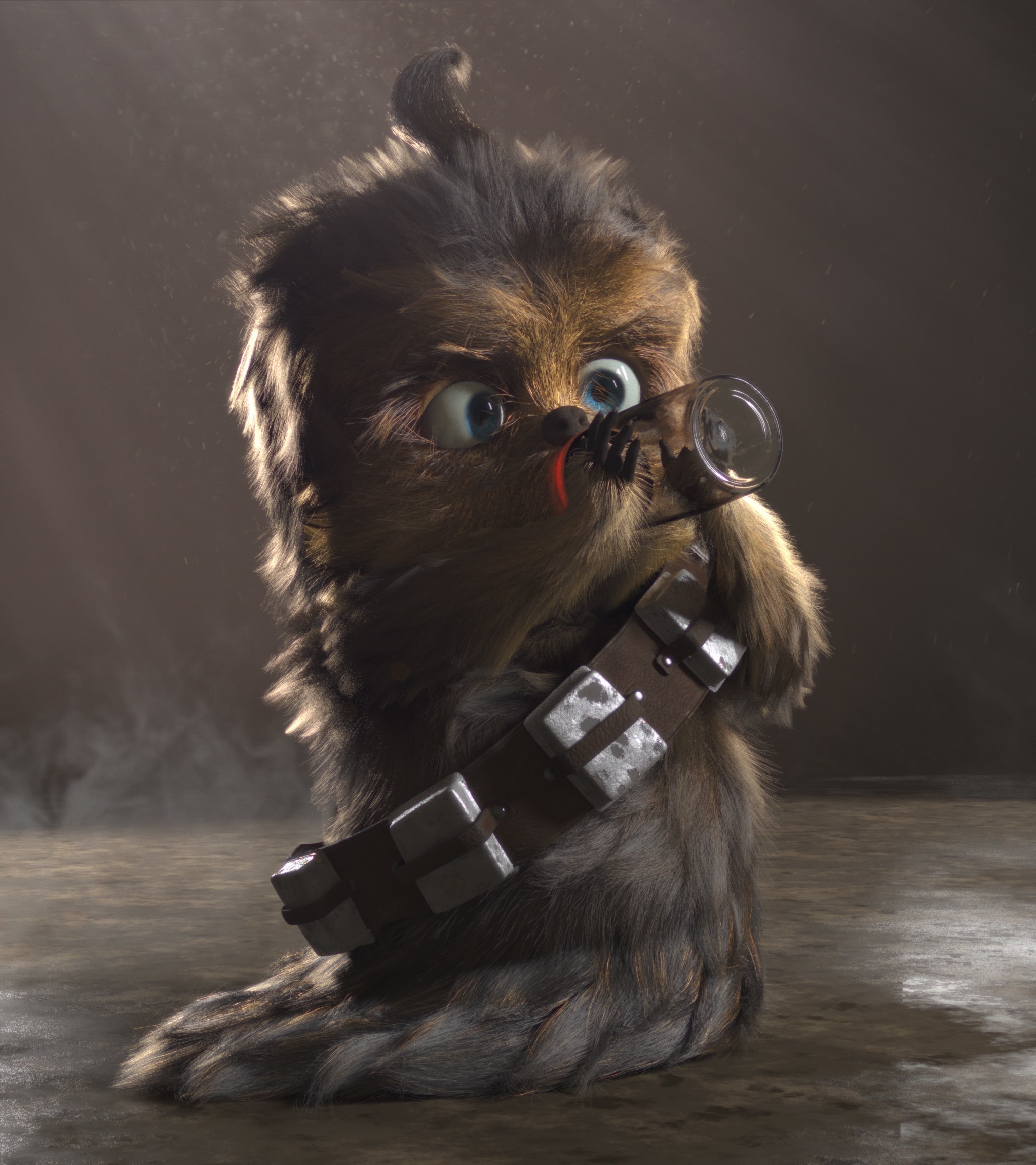 2045x2300  Baby Chewbacca Wallpaper. 74 · Download · Res: 1920x1280,