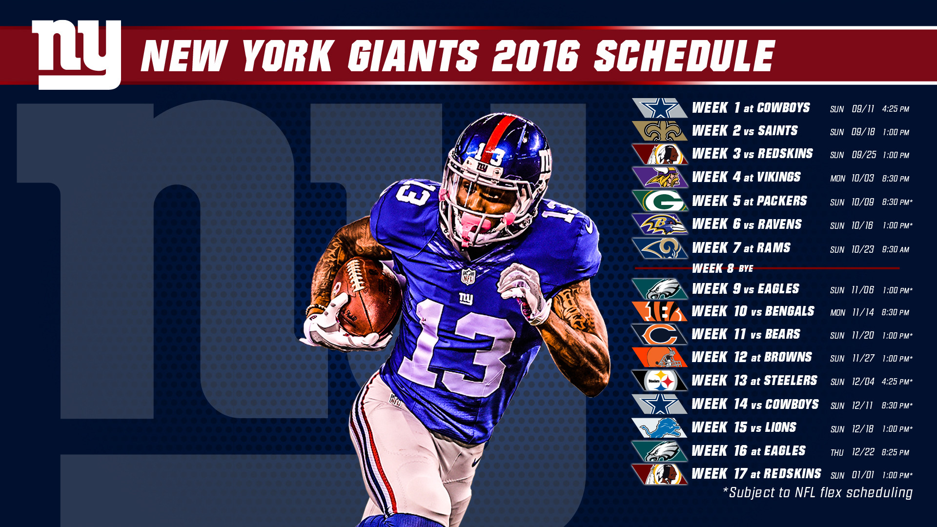 Ny Giants Wallpaper And Screensaver 66 Images