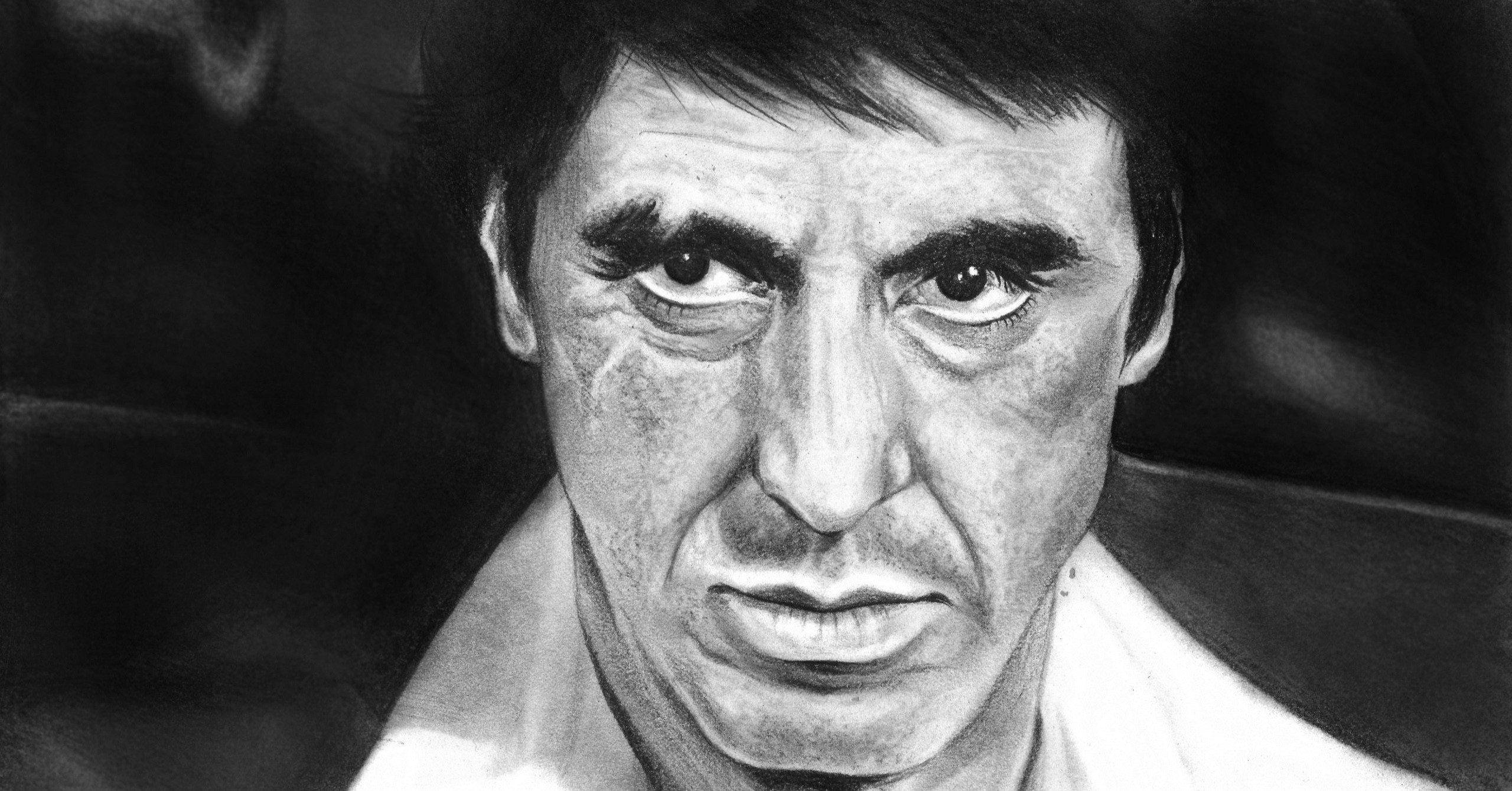 2560x1339 Al Pacino Fan Art Movies People Scarface Actors Wallpapers HD / Desktop and  Mobile Backgrounds