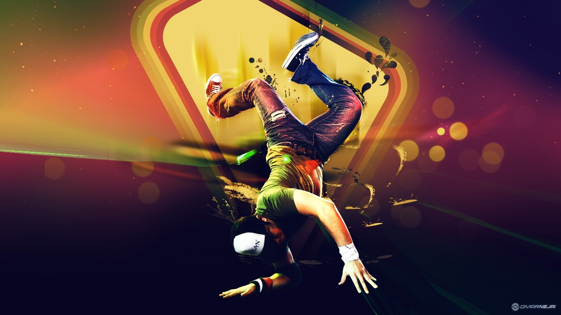 4k Orange Spiral Fire Light Dance Vj 2160p Background