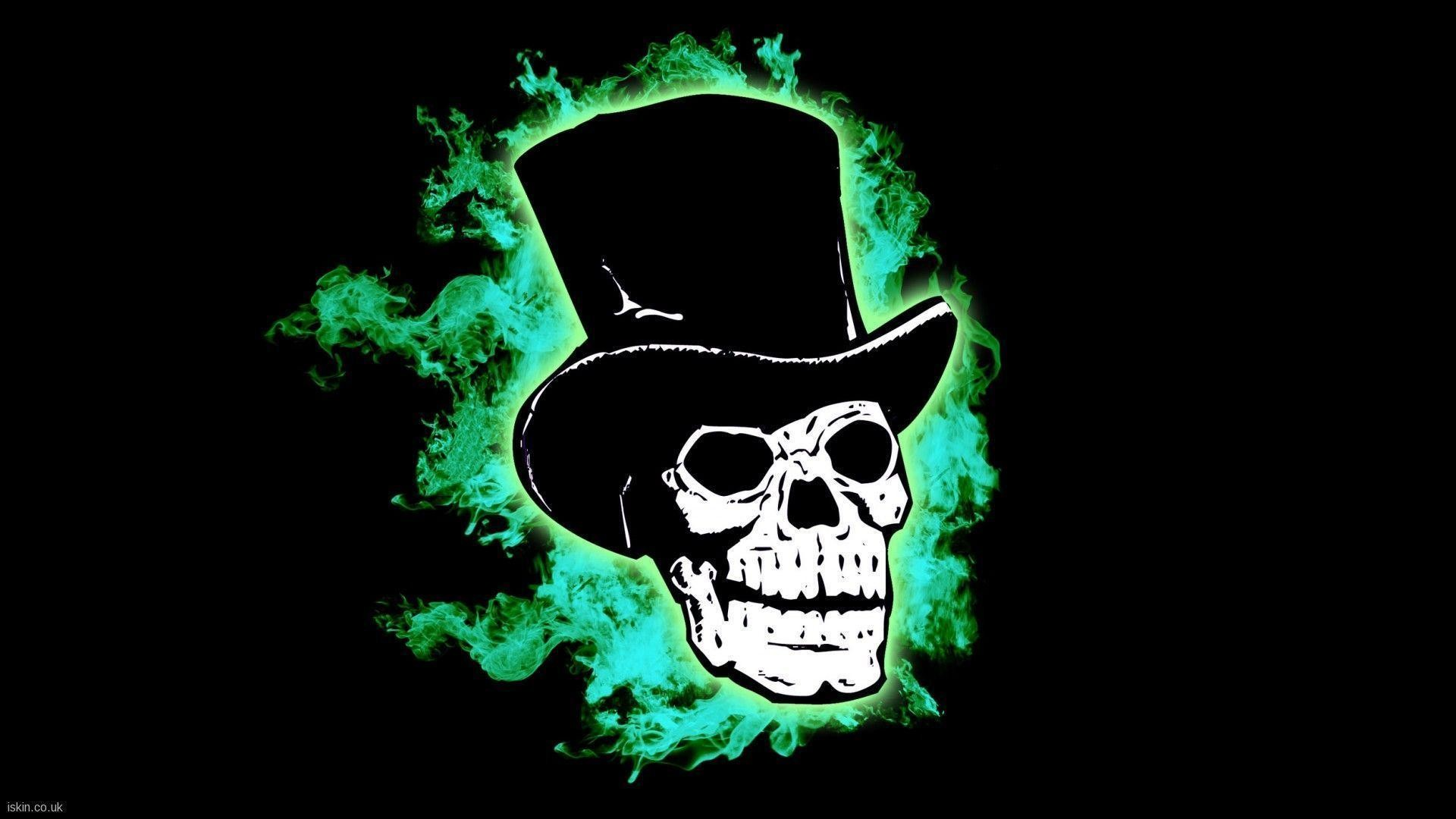 1920x1080 Cool Flaming Skull Wallpapers