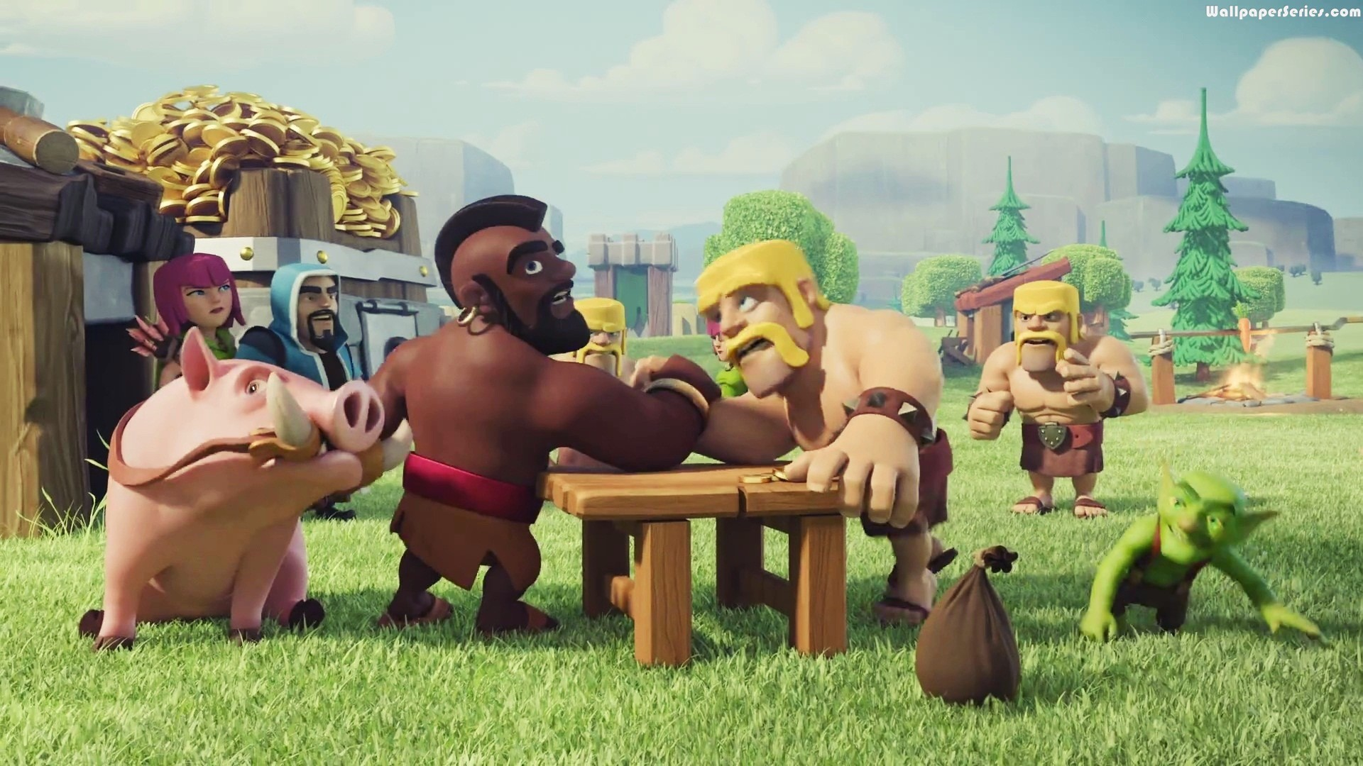 Clash Of Clans Barbarian Wallpaper 73 Images