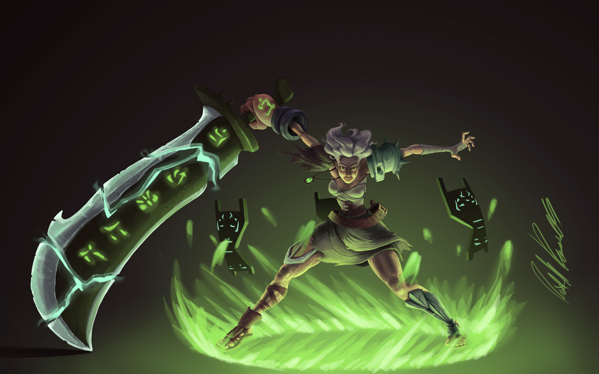 1920x1200 View, download, comment, and rate this  Riven Wallpaper - Wallpaper  Abyss