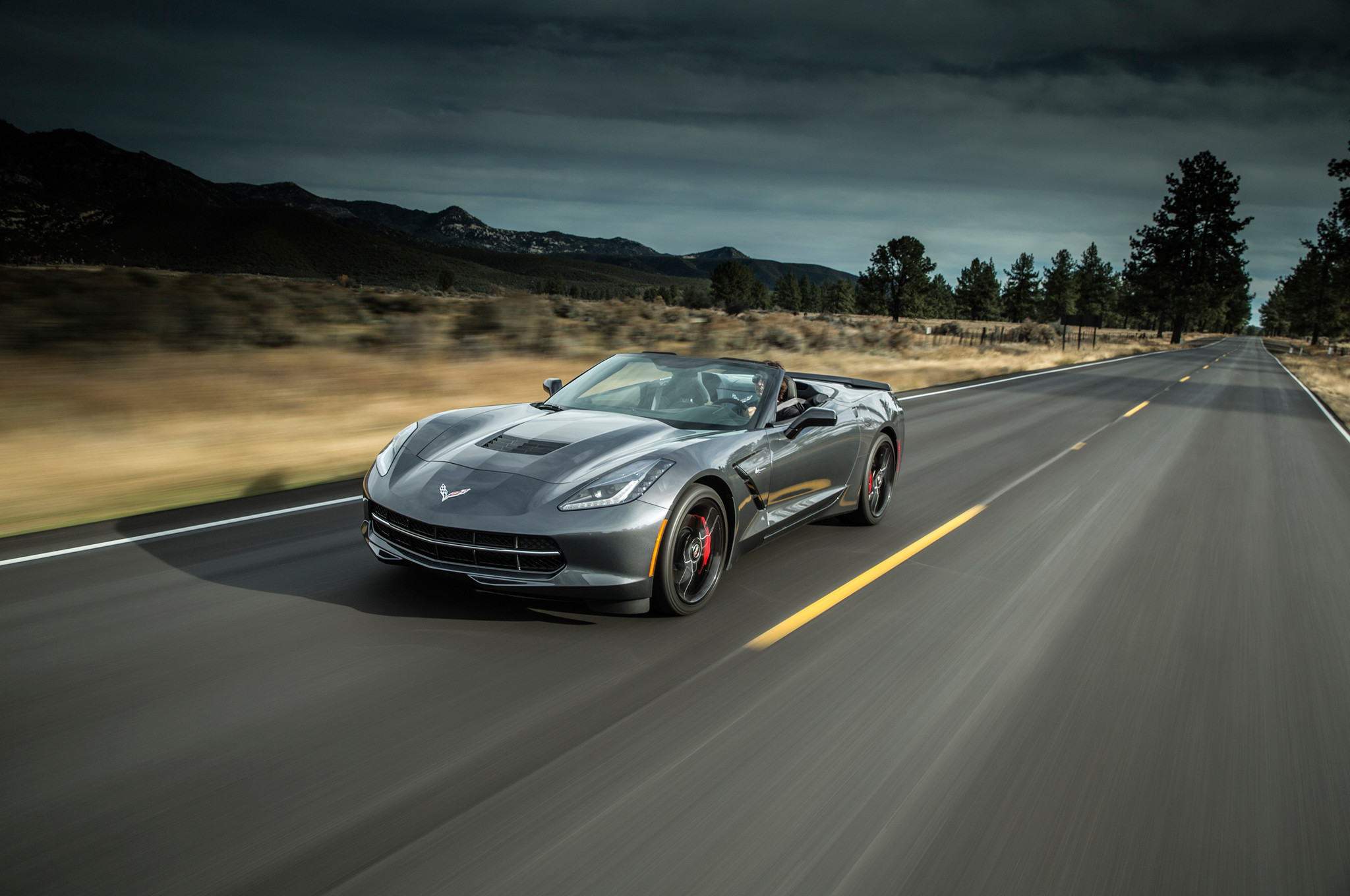 2048x1360 ... 2014 Chevrolet Corvette C7 Stingray Convertible 13 462 ...