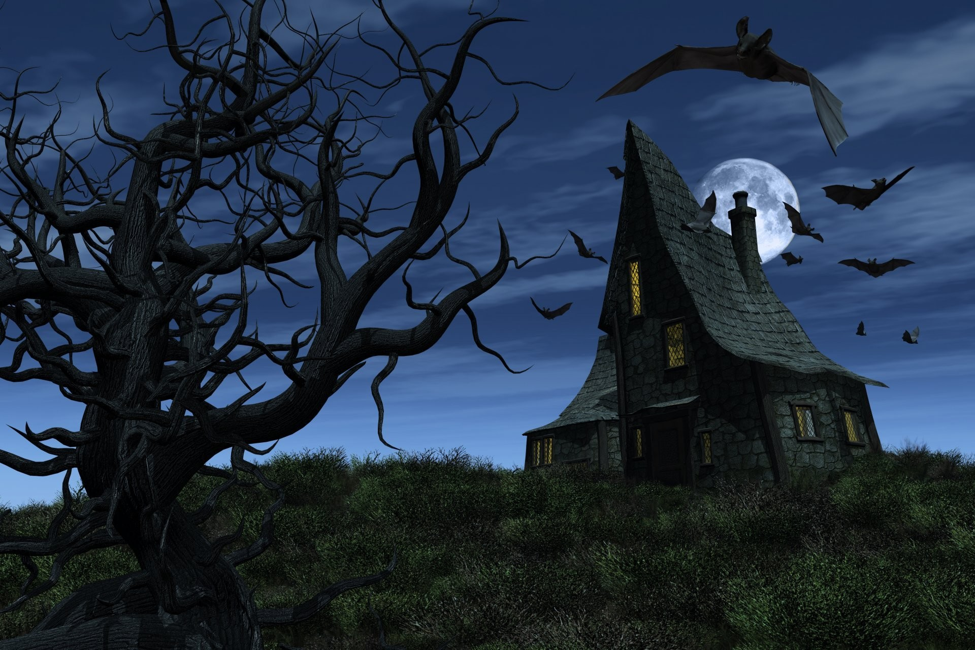 Haunted House Wallpaper (68+ images)