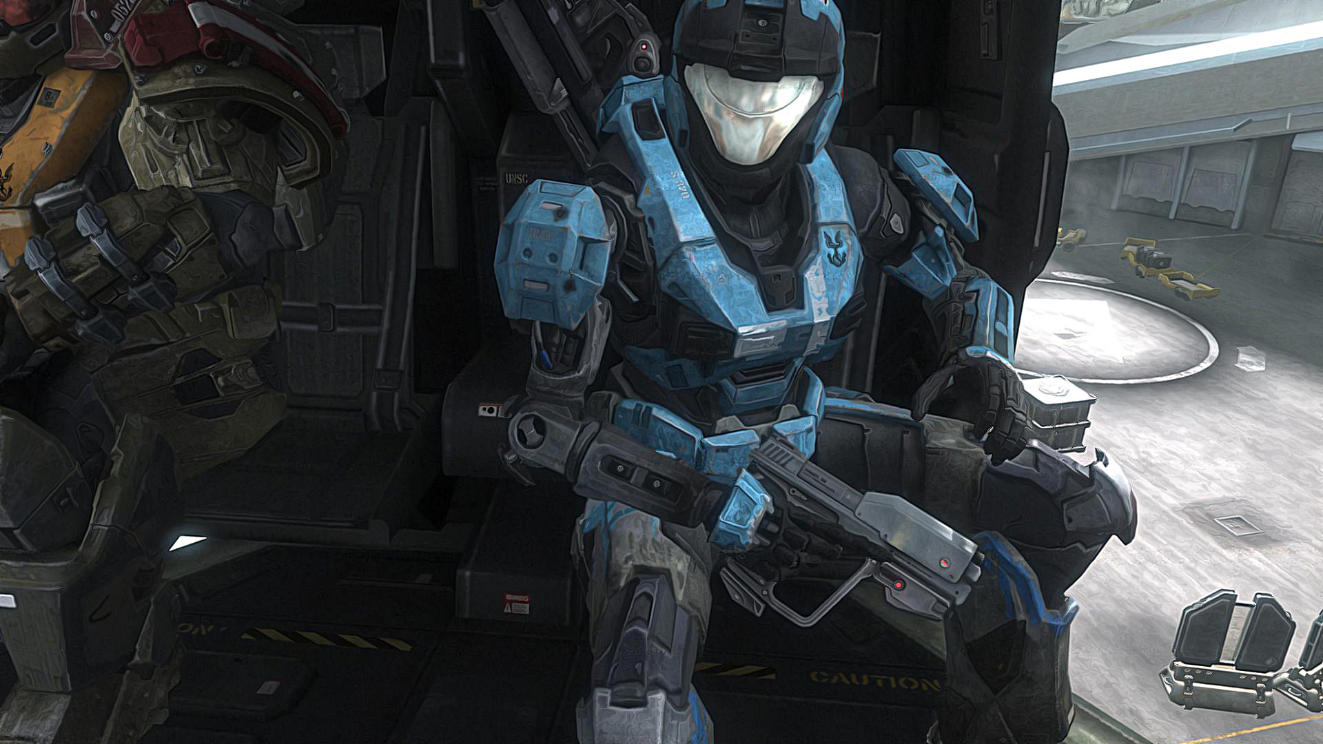 1920x1080 HDWP-44: Halo Reach Emile Wallpapers, Halo Reach Emile Collection .