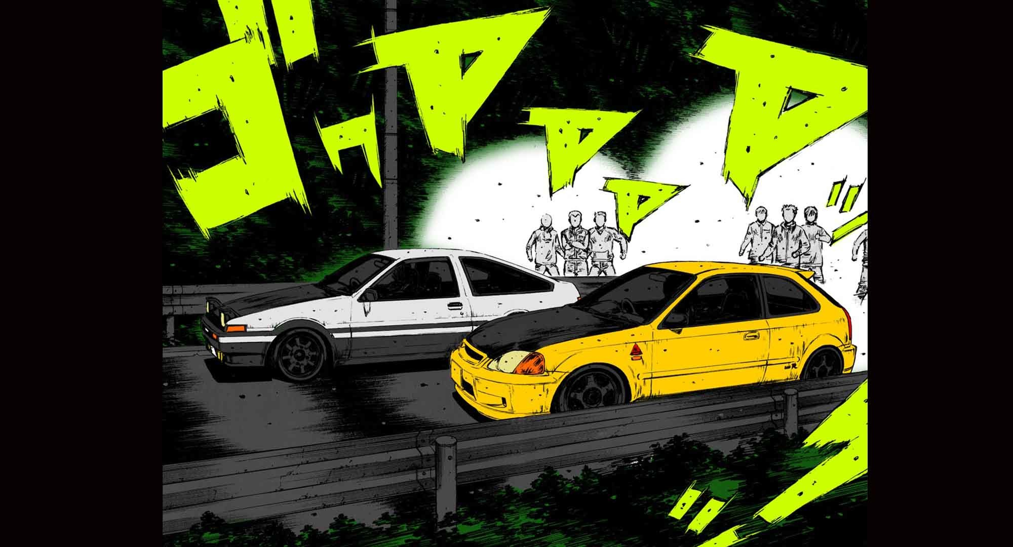 Initial D Wallpapers (53+ images)