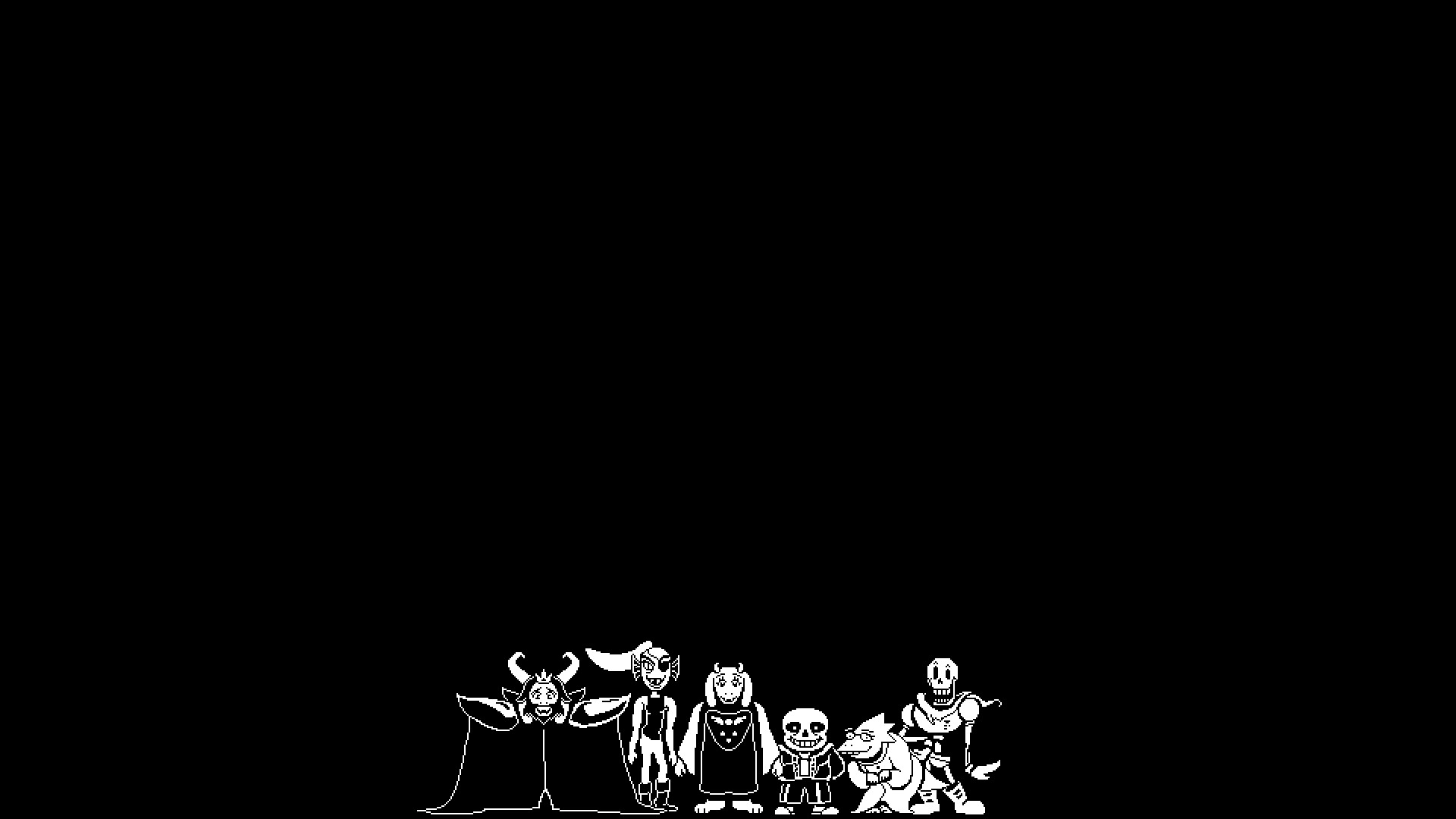 1920x1080 SPOILERS Undertale Genocide Final Boss Second Play Through .