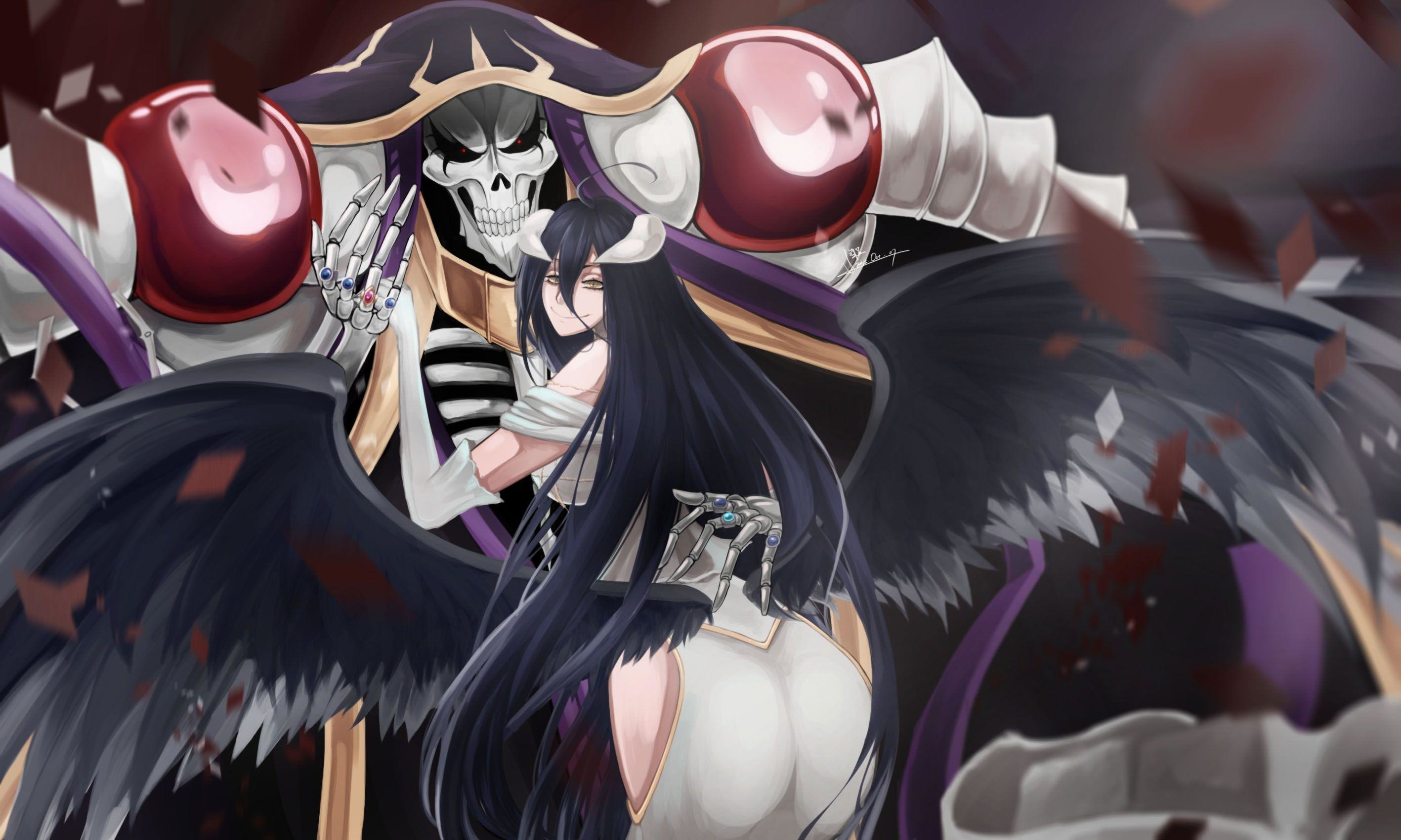 2835x1701 49 Albedo (Overlord) HD Wallpapers | Backgrounds - Wallpaper Abyss .