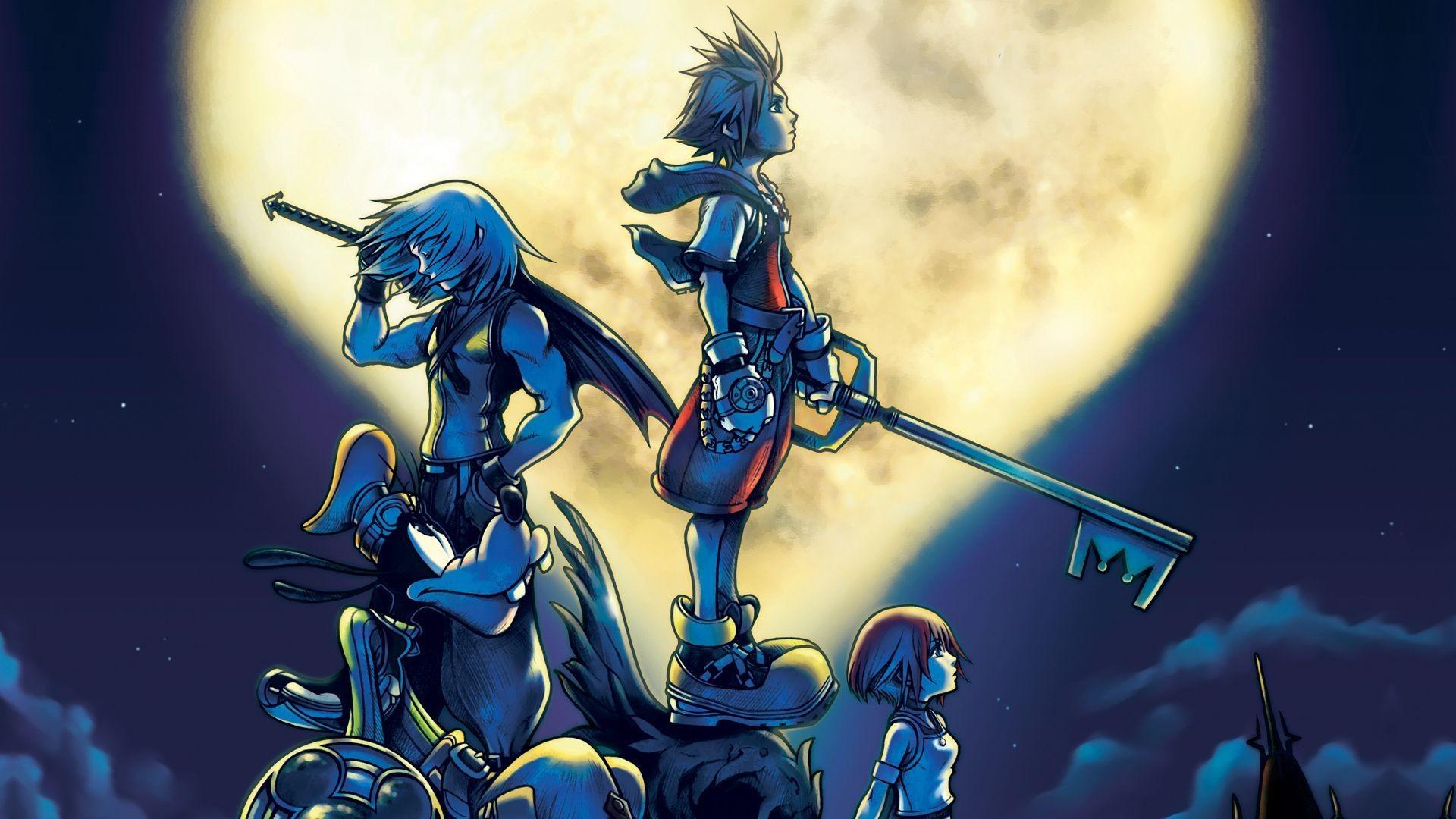 Kingdom Hearts Sora Wallpaper 1920x1080 Kingdom Hearts 2 Roxas...