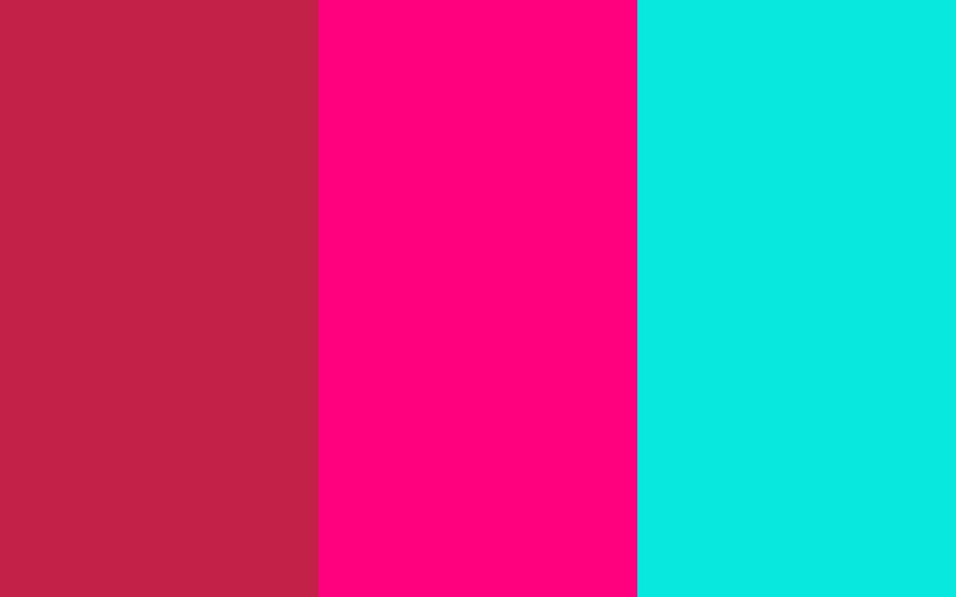 Bright neon pink background