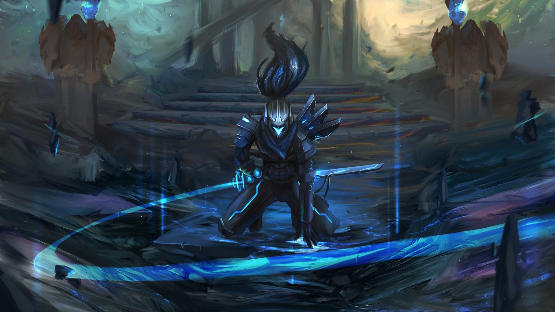 1920x1080 Project Yasuo League of Legends Wallpaper #34431