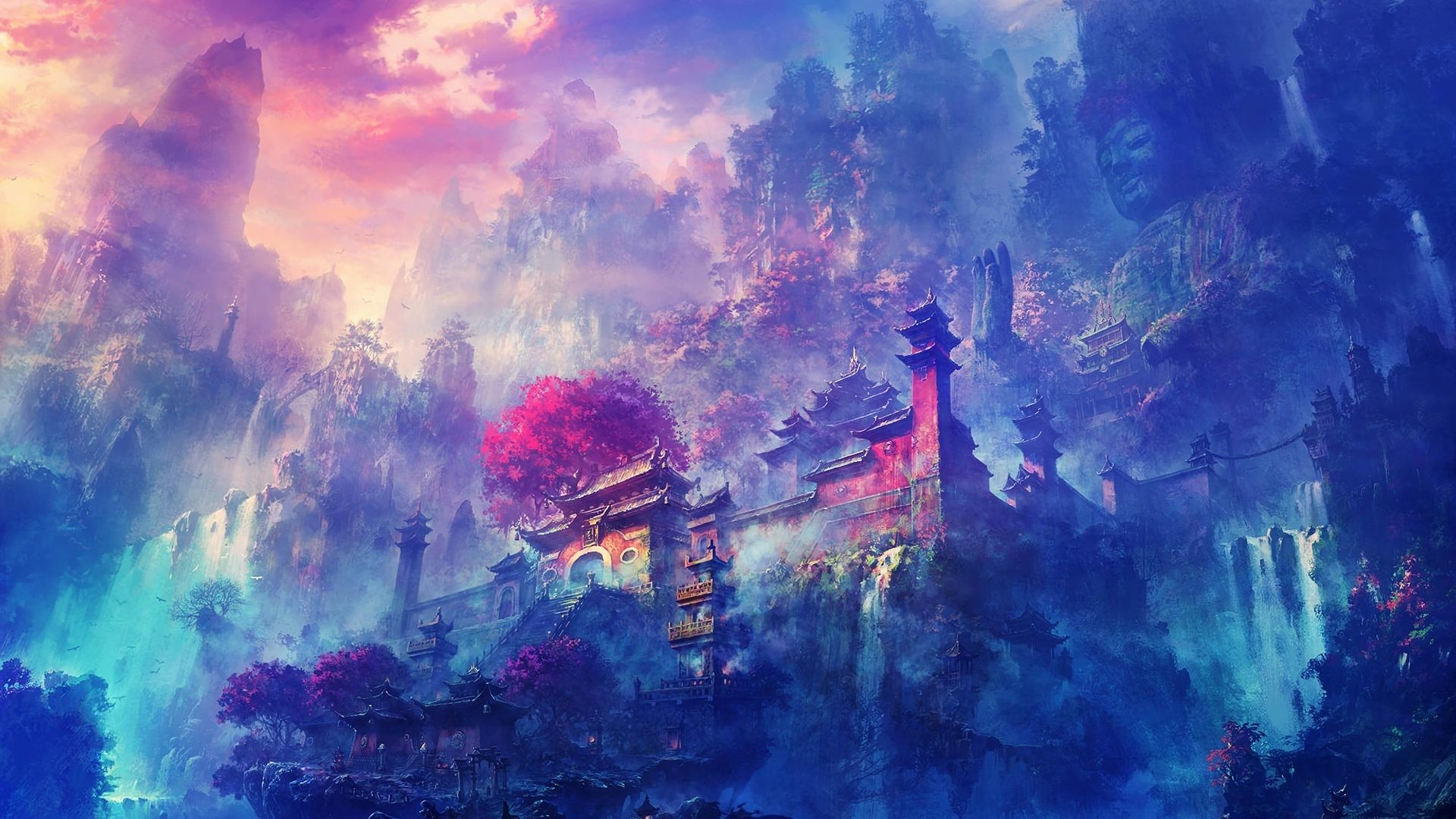 Anime Scenery Wallpaper (48+ Images