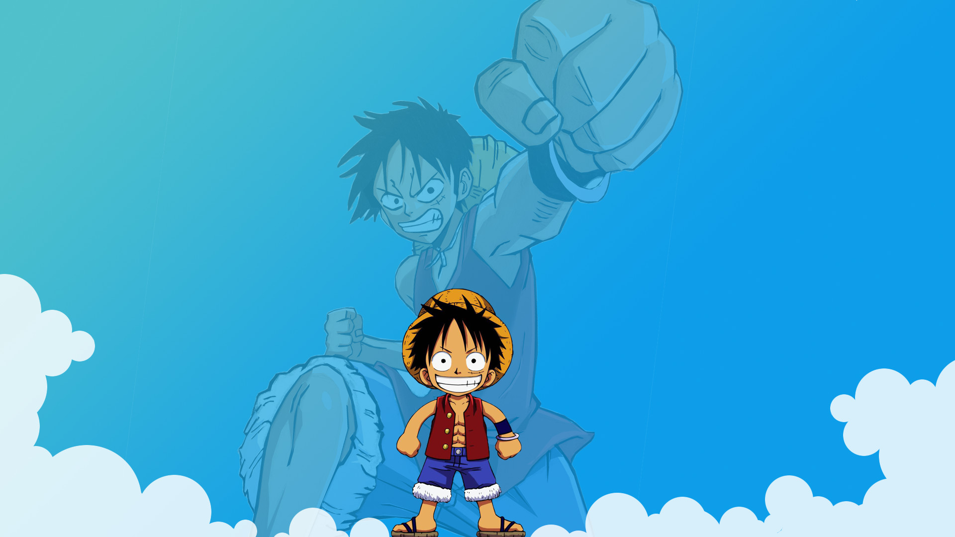 1920x1080 Anime - One Piece Monkey D. Luffy Wallpaper