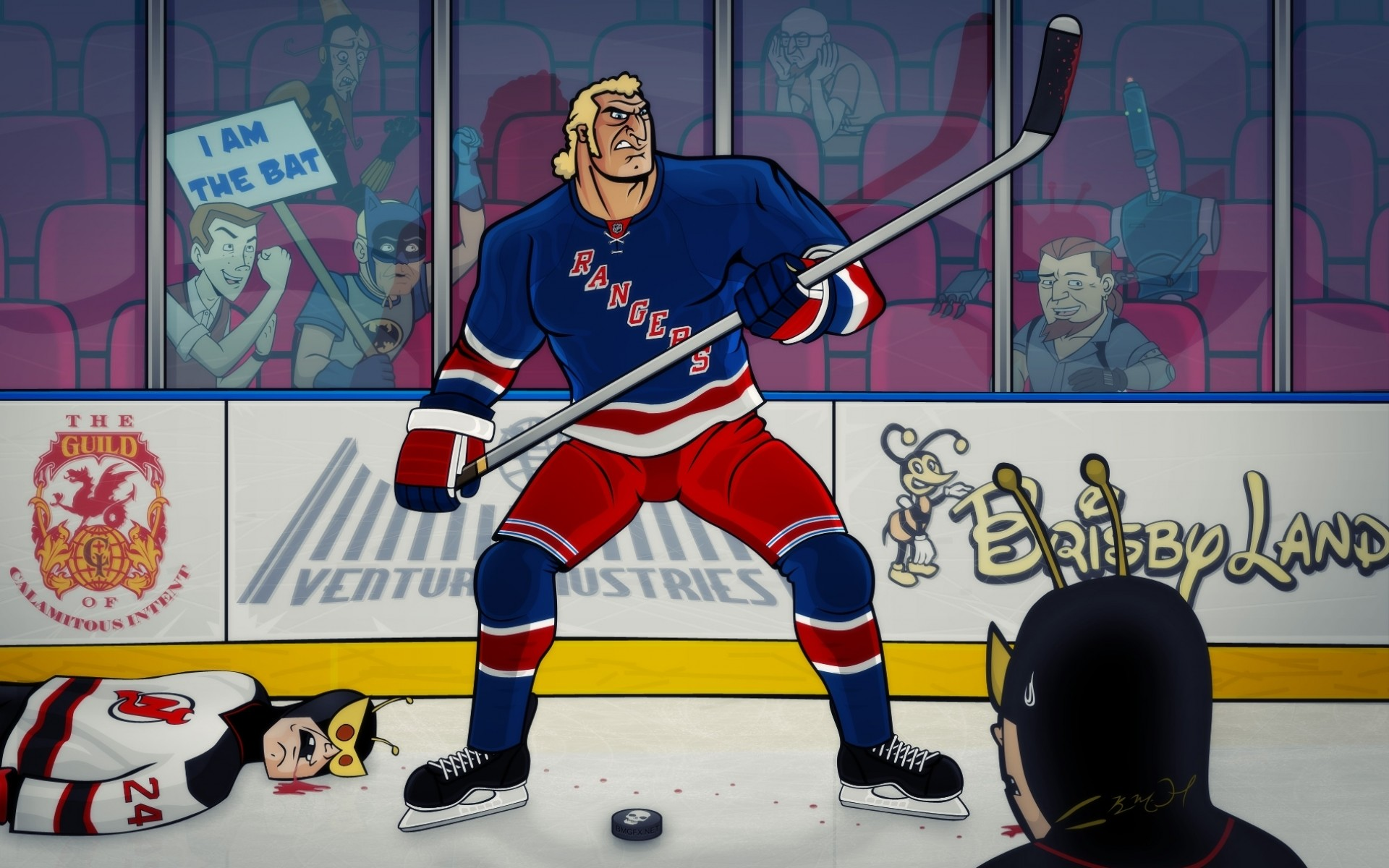 1920x1200 Hockey nhl the venture bros new york rangers g wallpaper |  |  128757 | WallpaperUP