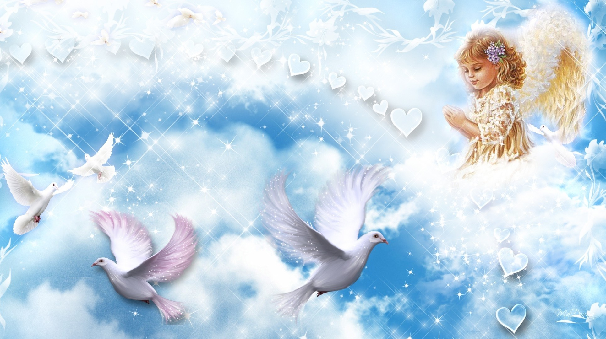 angel babies wallpaper (52+ images)