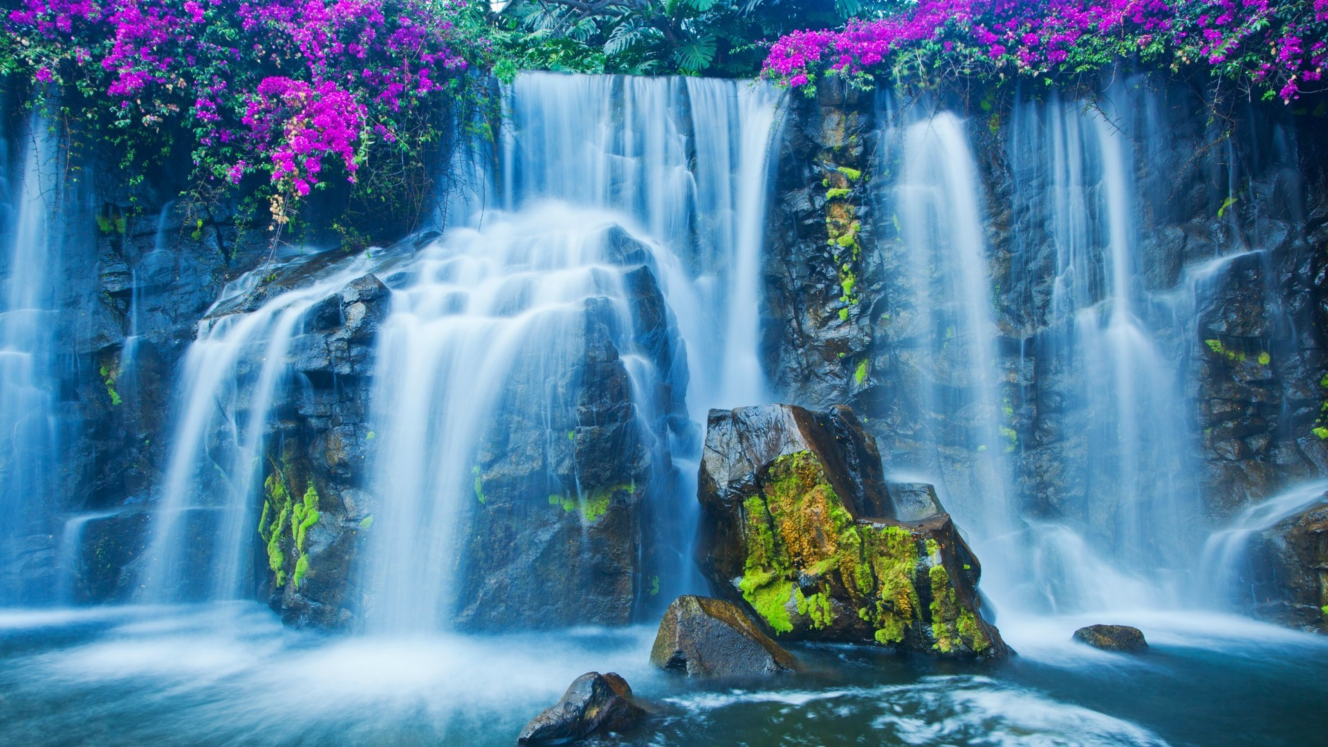 Desktop Wallpapers Waterfalls With Rainbow (34+ Images