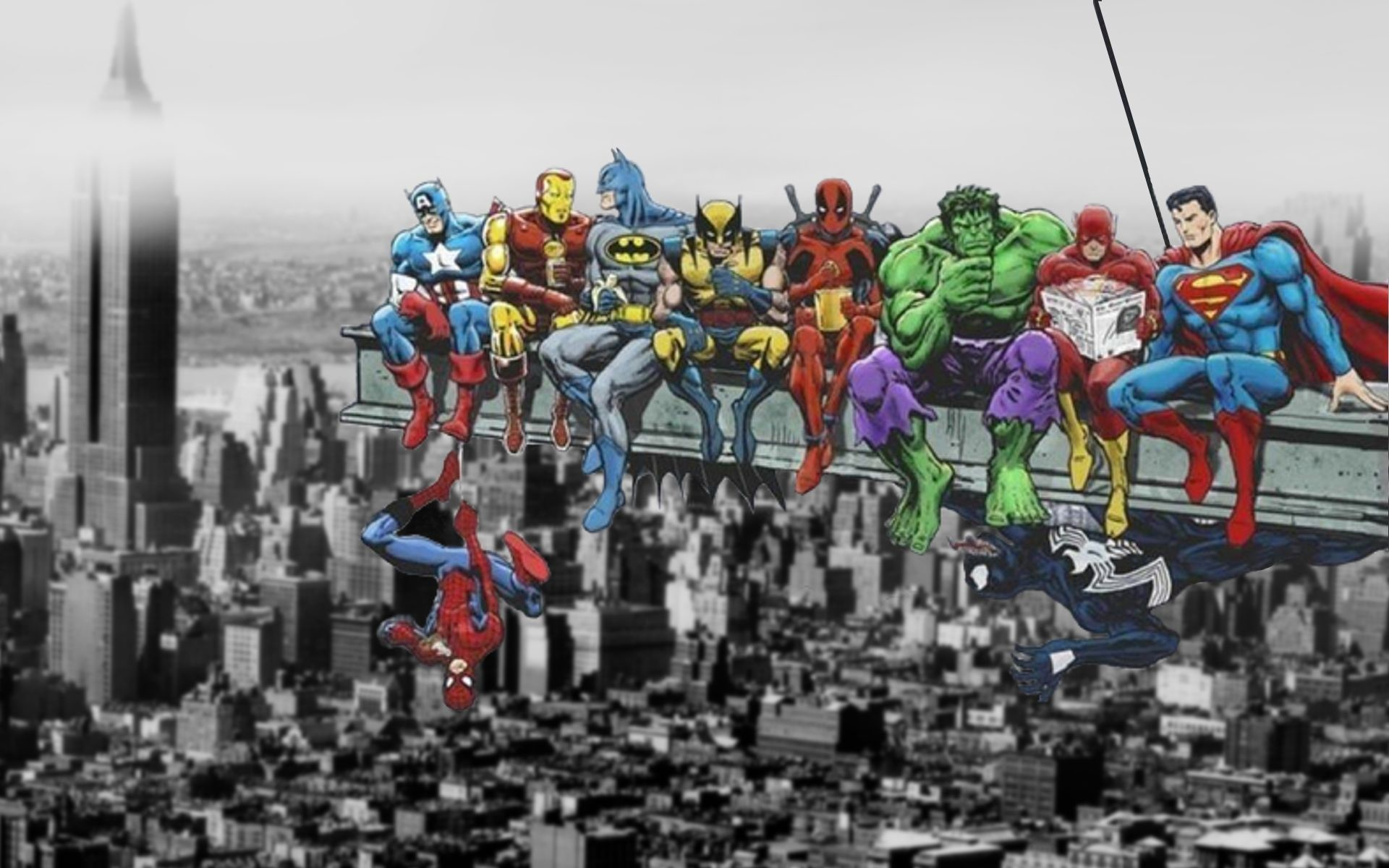 Marvel And Dc Wallpaper 64 Images