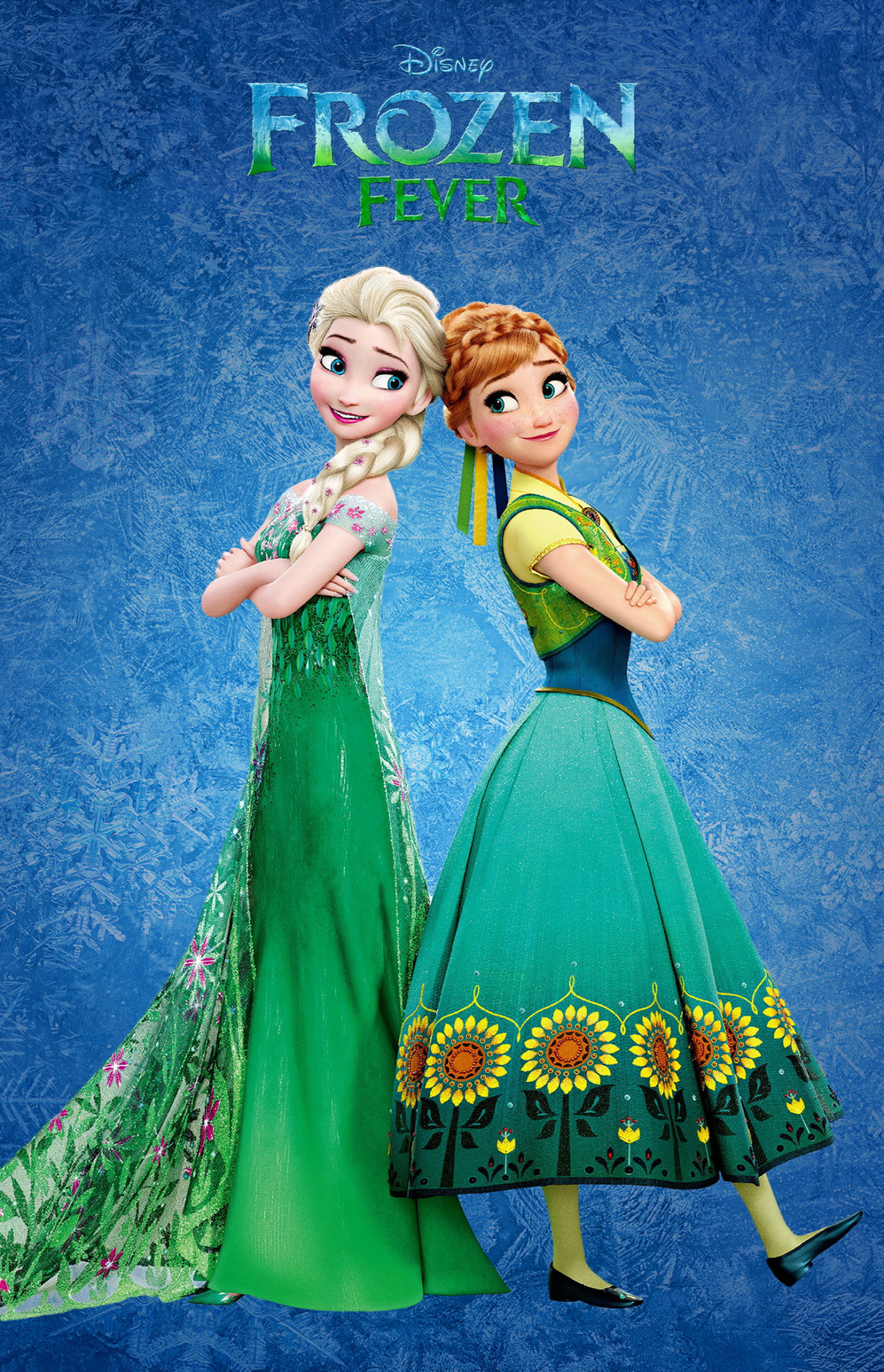 1237x1920 Day 13: My favorite outfit is Elsa's dress from Frozen Fever. I love the