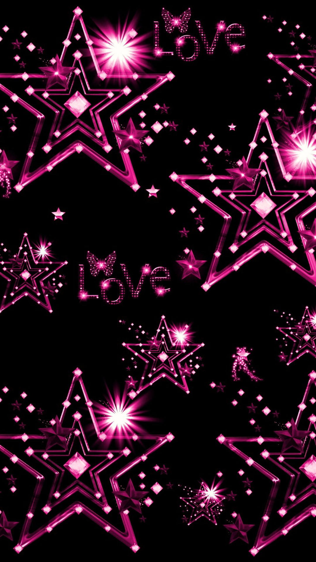 Stars And Hearts Wallpaper 35 Images
