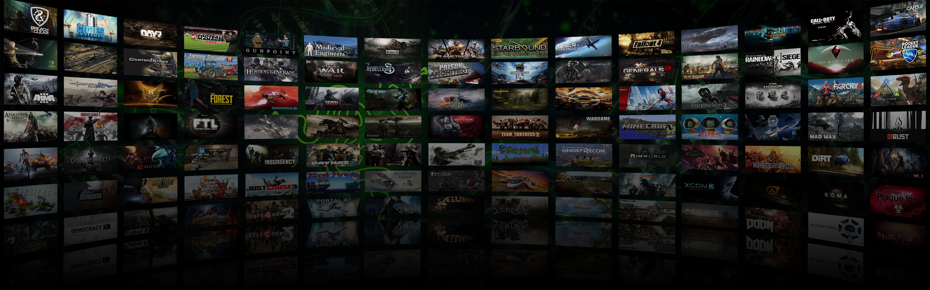 3840x1200 ... Dual Monitor Game Montage Wallpaper 3 by DarkXess