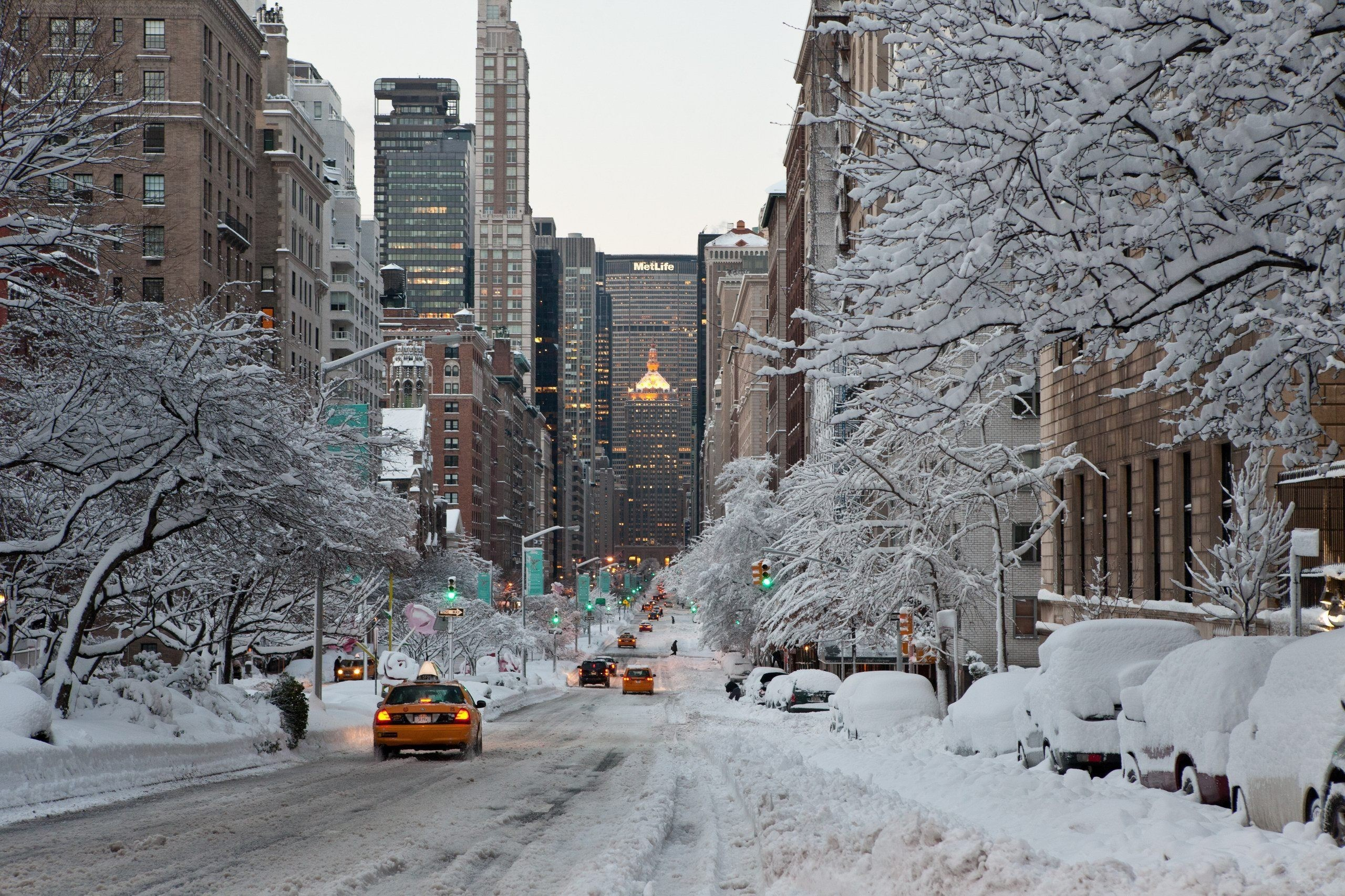 New York City Wallpaper Winter