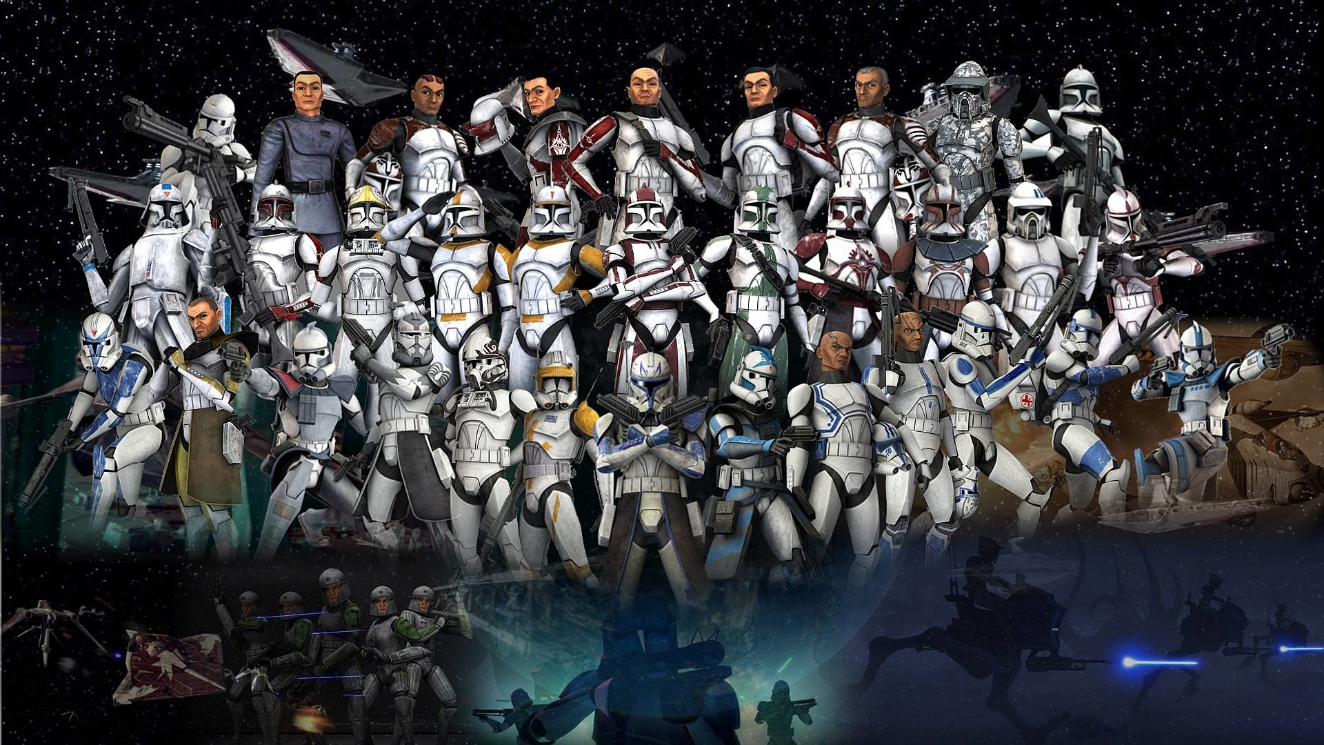 1920x1080 Clone Trooper wallpaper - 1172308