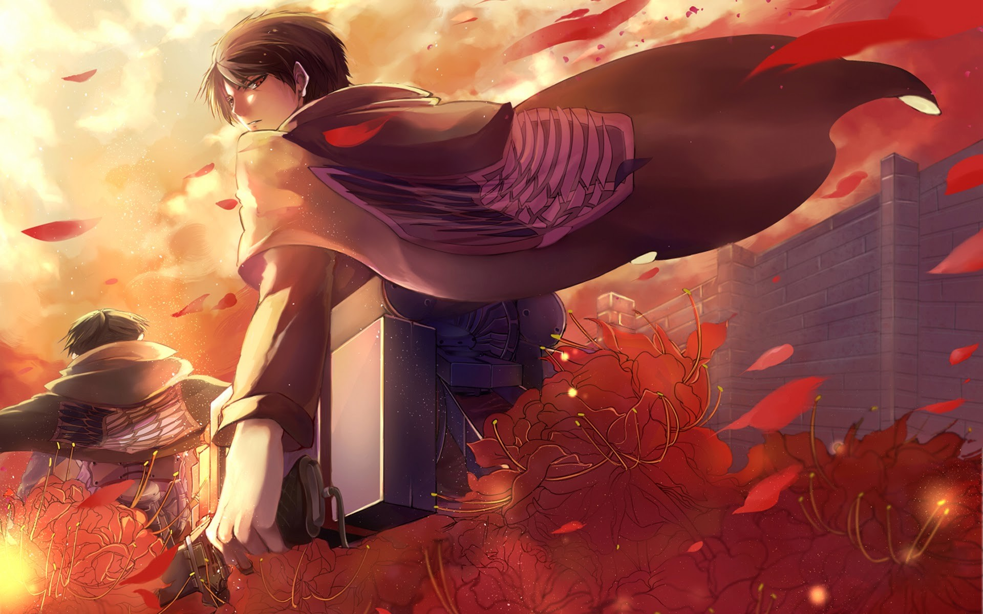 Eren And Levi Wallpaper 70 Images