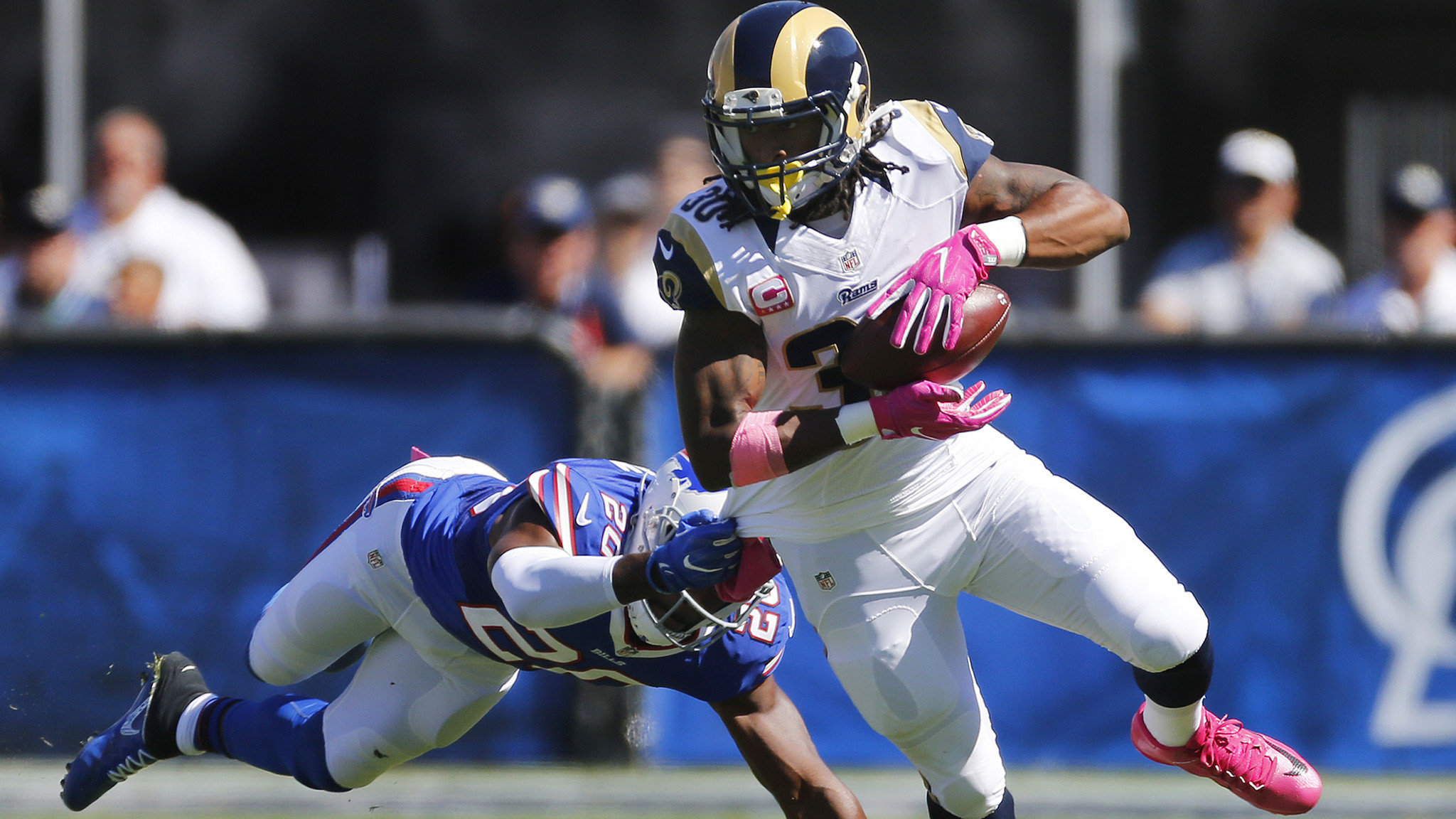 2048x1152 Rams' Todd Gurley is staying patient but has little to show for it this  season - LA Times