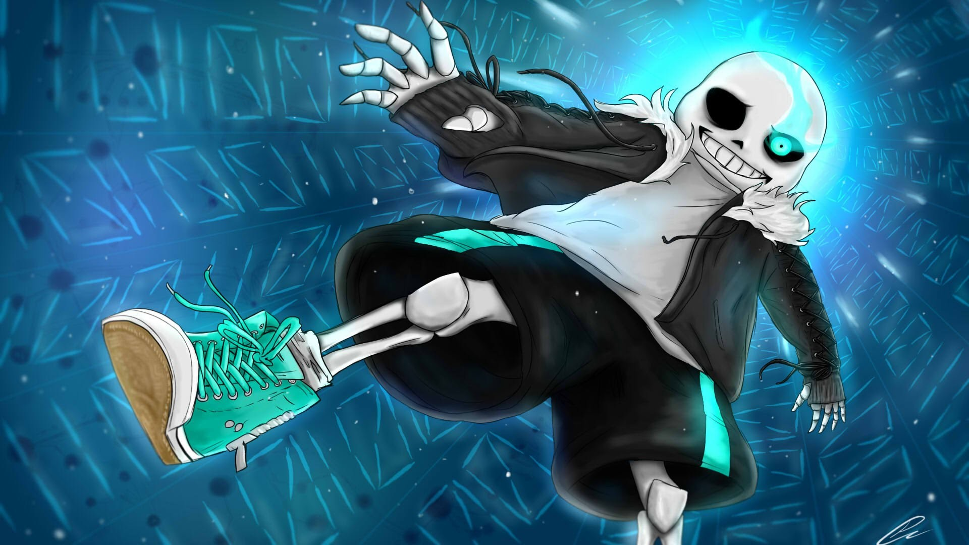 1920x1080 Undertale] SANS...? by AnthonyBlender on DeviantArt