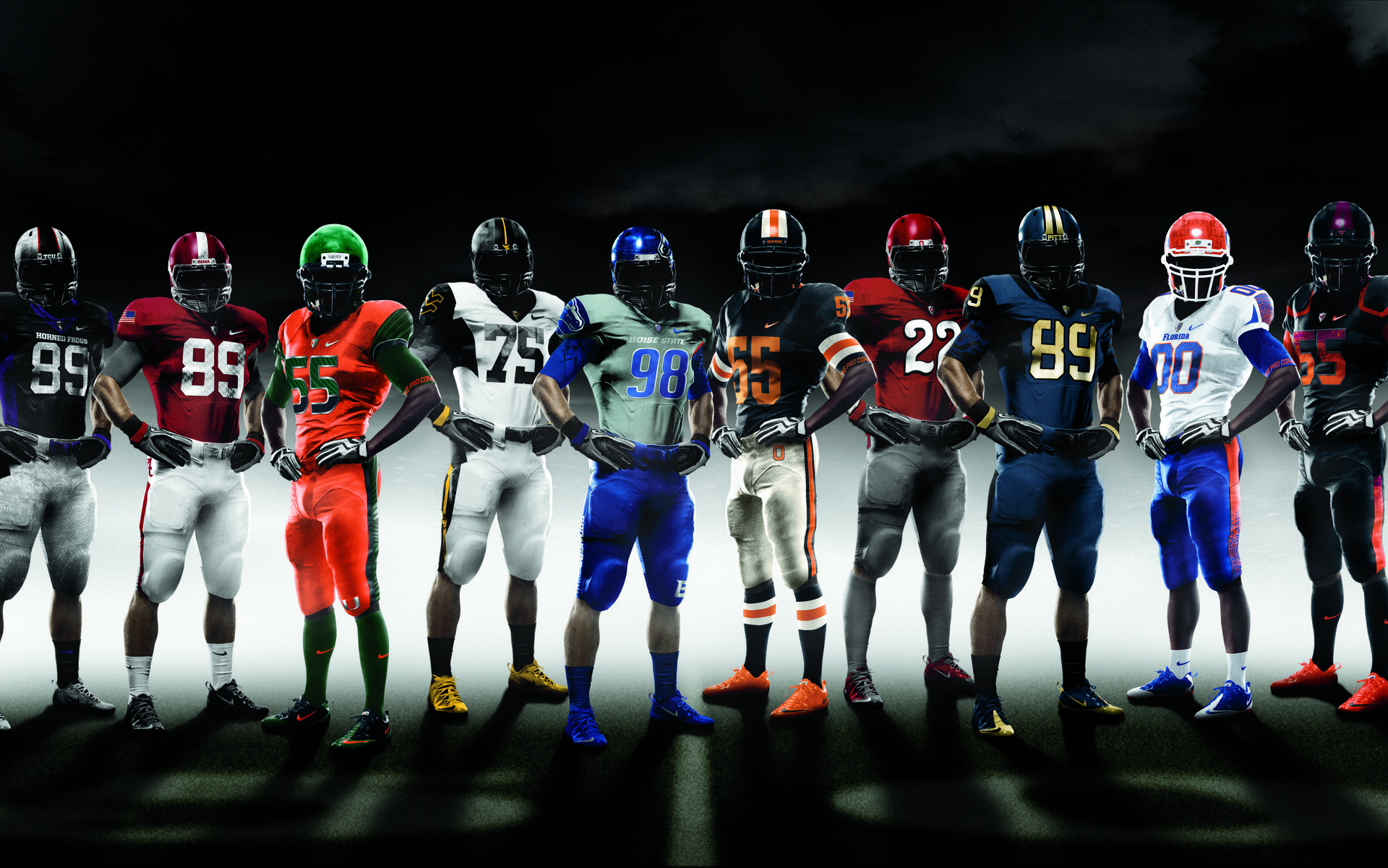 1920x1200 College Football Wallpaper, NCAA, Nike Pro combat in 2010 | HD .