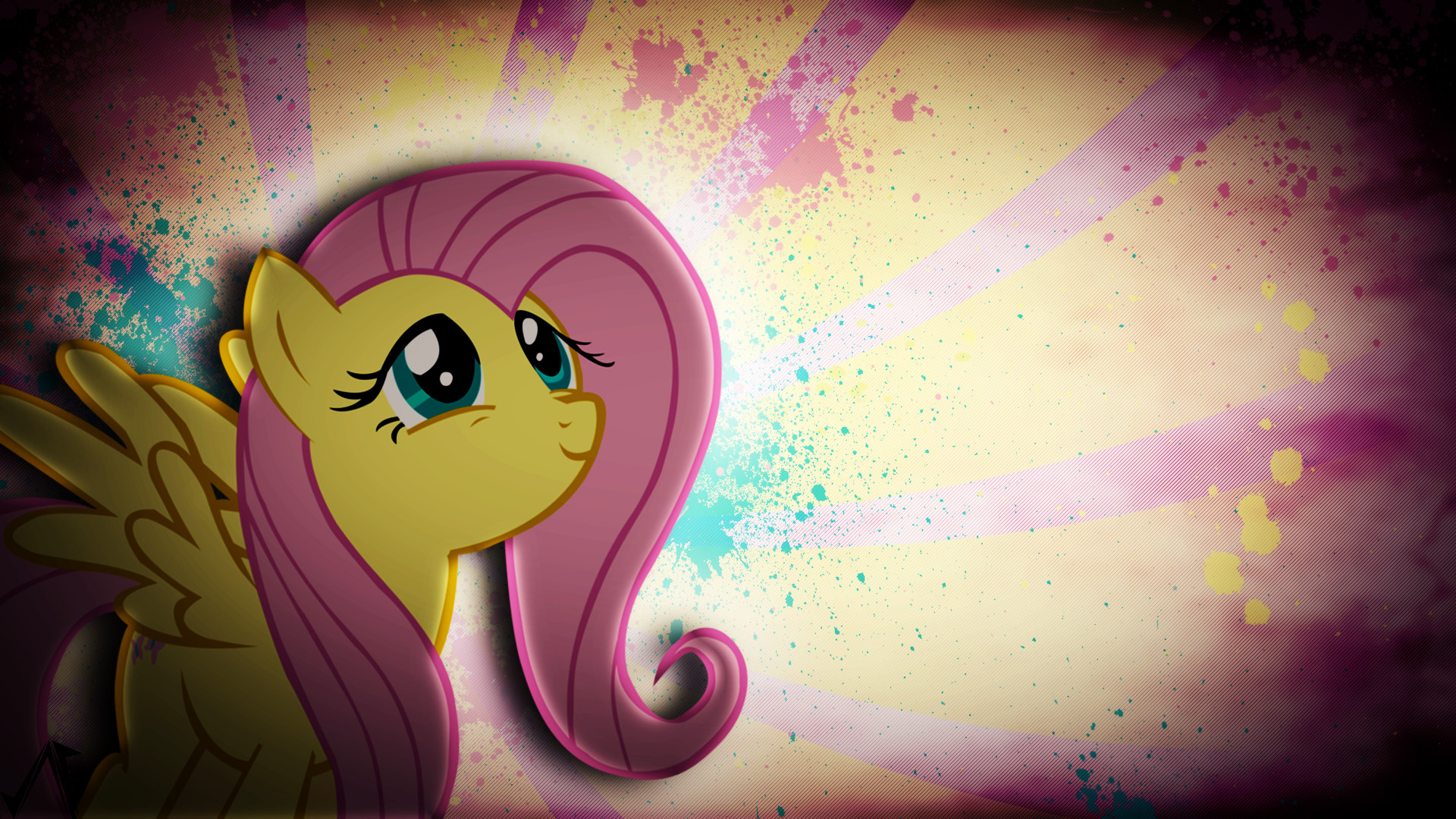 1920x1080 Image - Fluttershy wallpaper by artist-justaninnocentpony.png | My Little  Pony Fan Labor Wiki | FANDOM powered by Wikia
