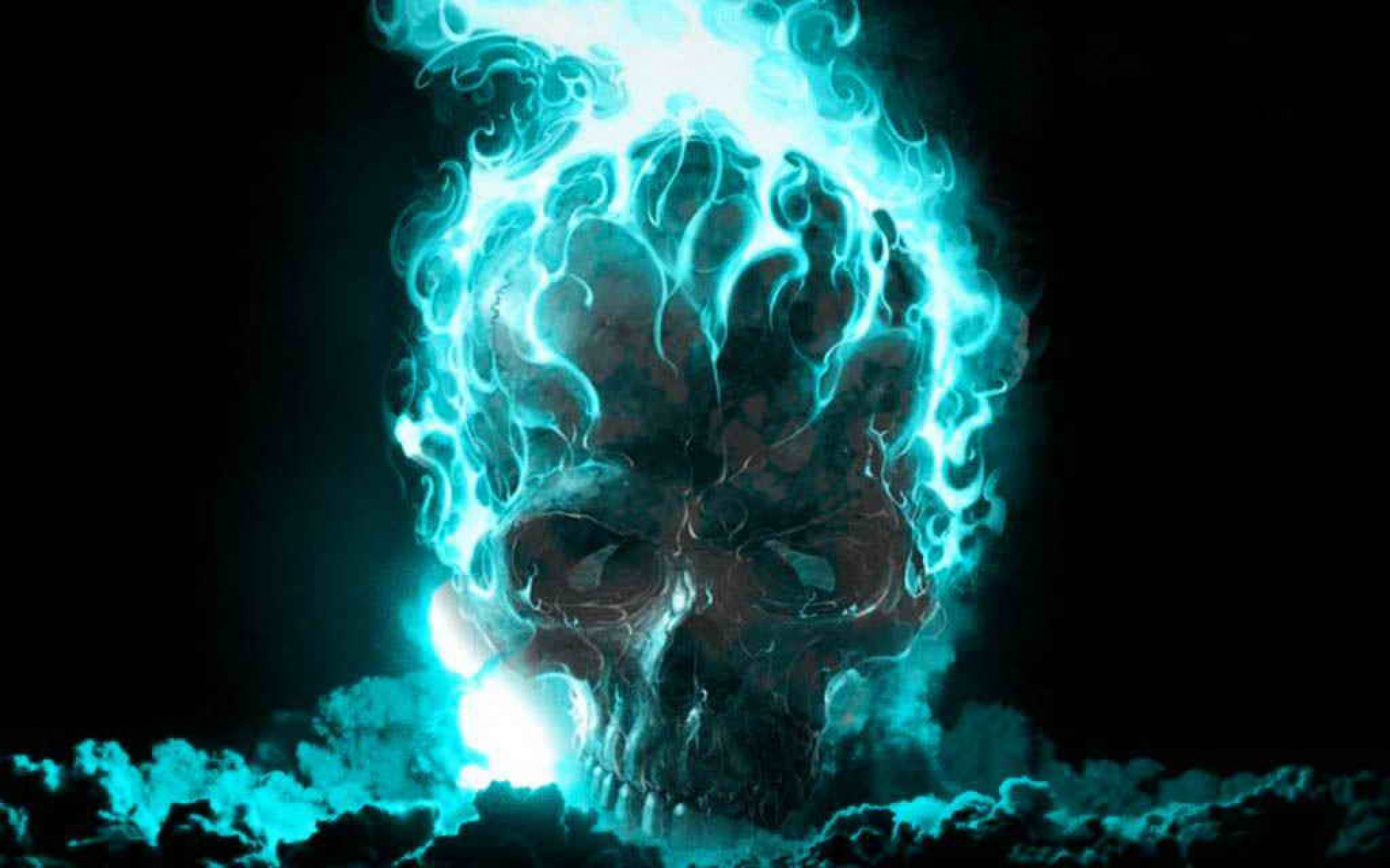1920x1200 Mythical Evil Skull #Awesome #cool #Evil #Fantasy #Imagination #Mythical #